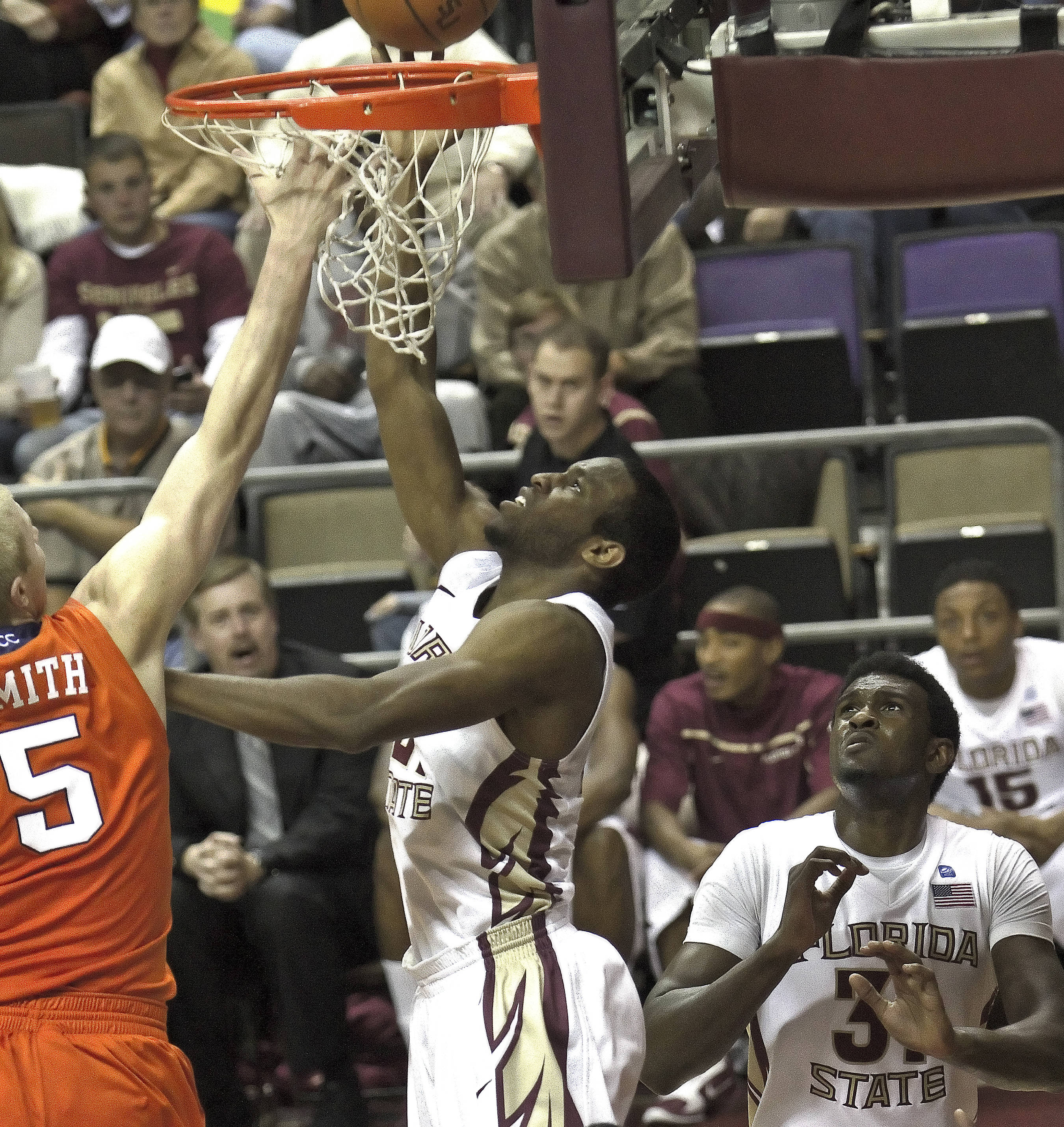 FSU vs Clemson - 12/12/2010 -  Michael Snaer (21), Chris Singleton (31)