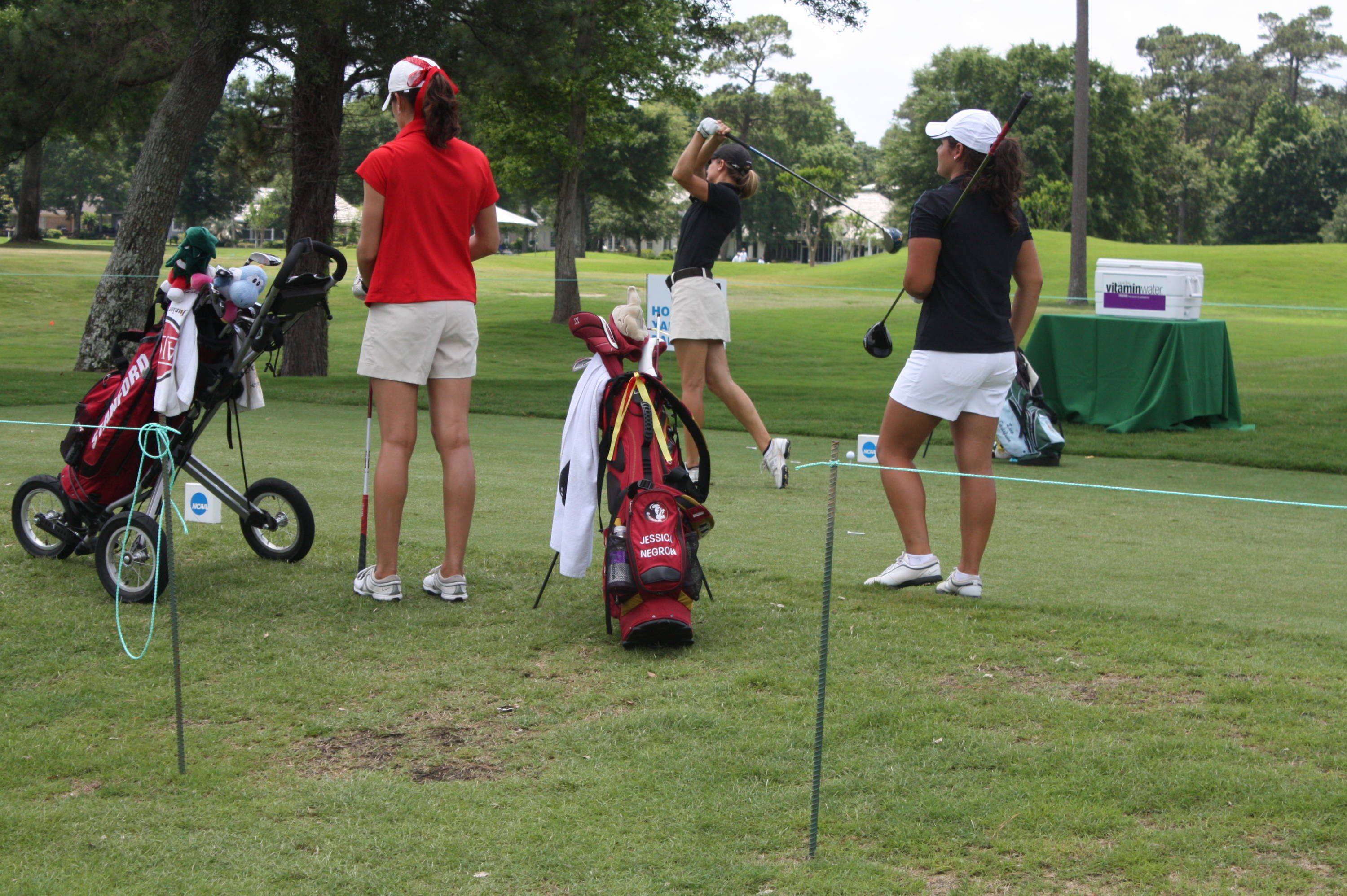 2010 NCAA Women's Golf - Round 1