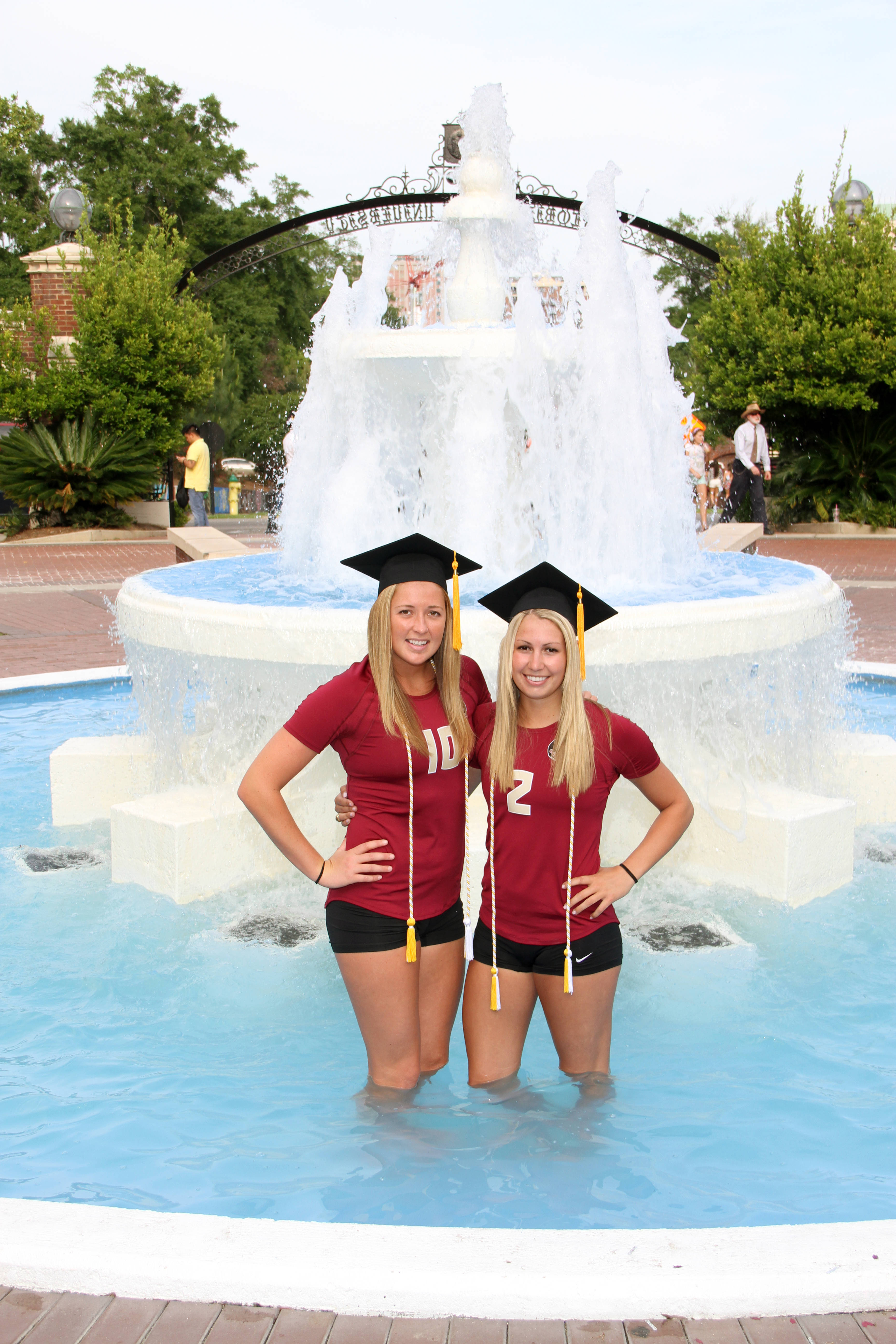 And of course a snap taken in the fountain!