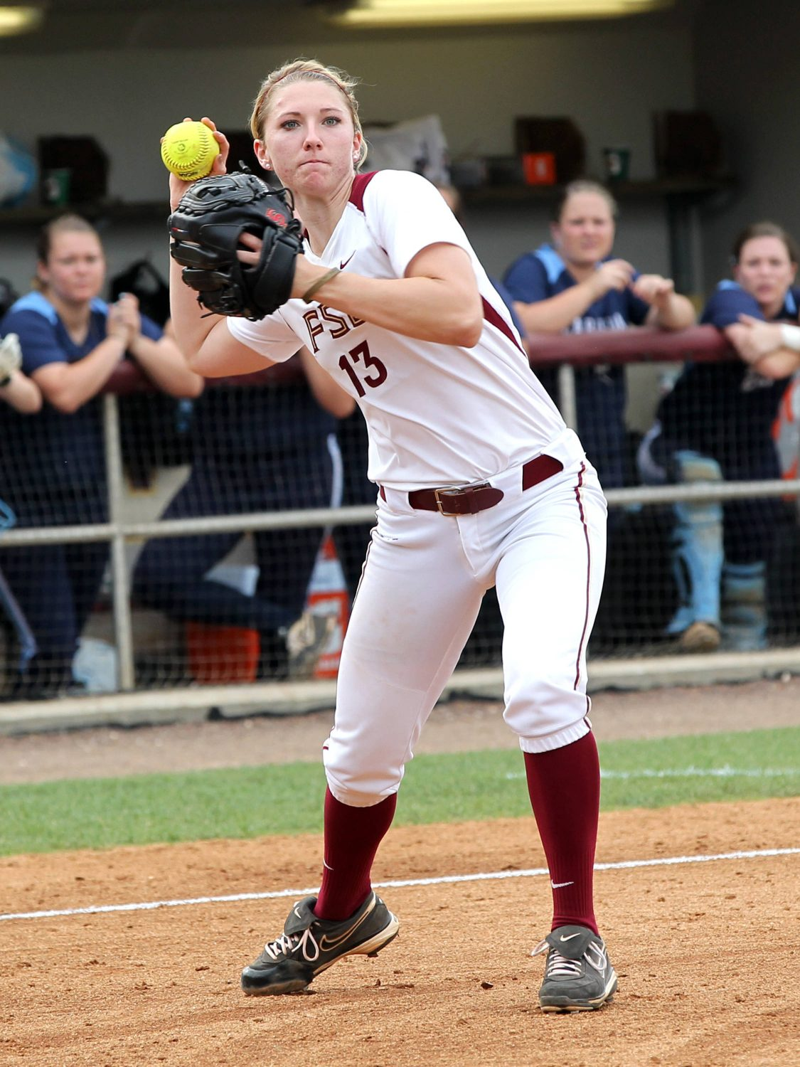 Lacey Waldrop, FSU VS NC, ACC Championship Semifinals, Tallahassee, FL,  05/10/13 . (Photo by Steve Musco)