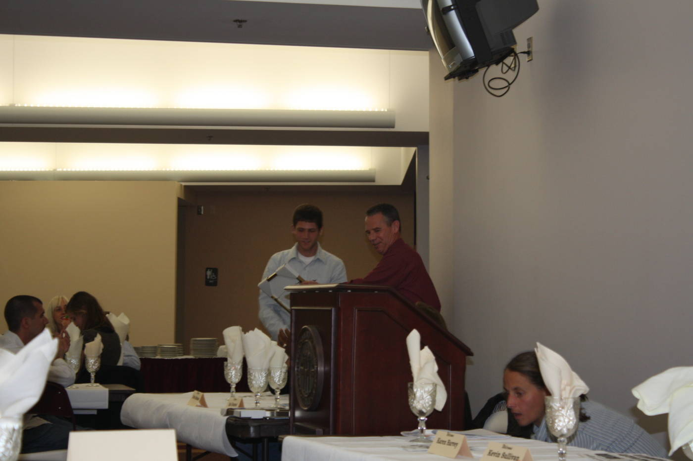2008 cross country banquet.