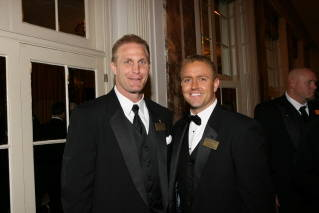 Air Force All-American Chad Henning with ESPN&acirc;?<sup>TM</sup>s Kirk Herbstreit