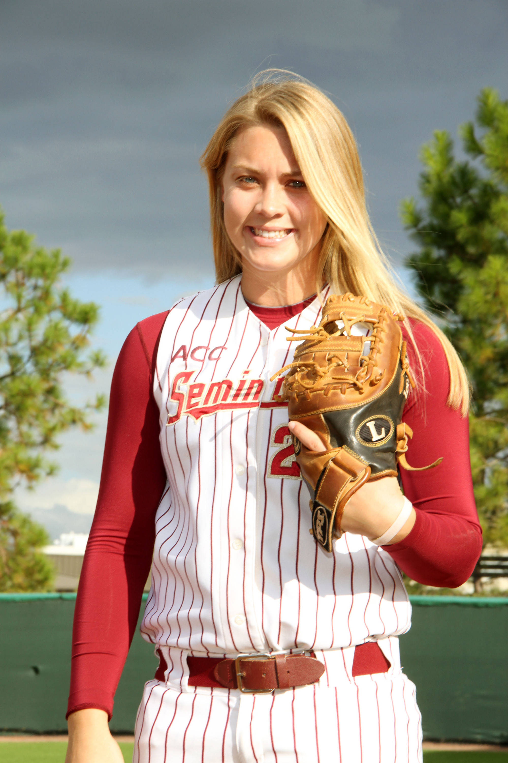 2012 FSU Softball Team Kelly Hensley (23)