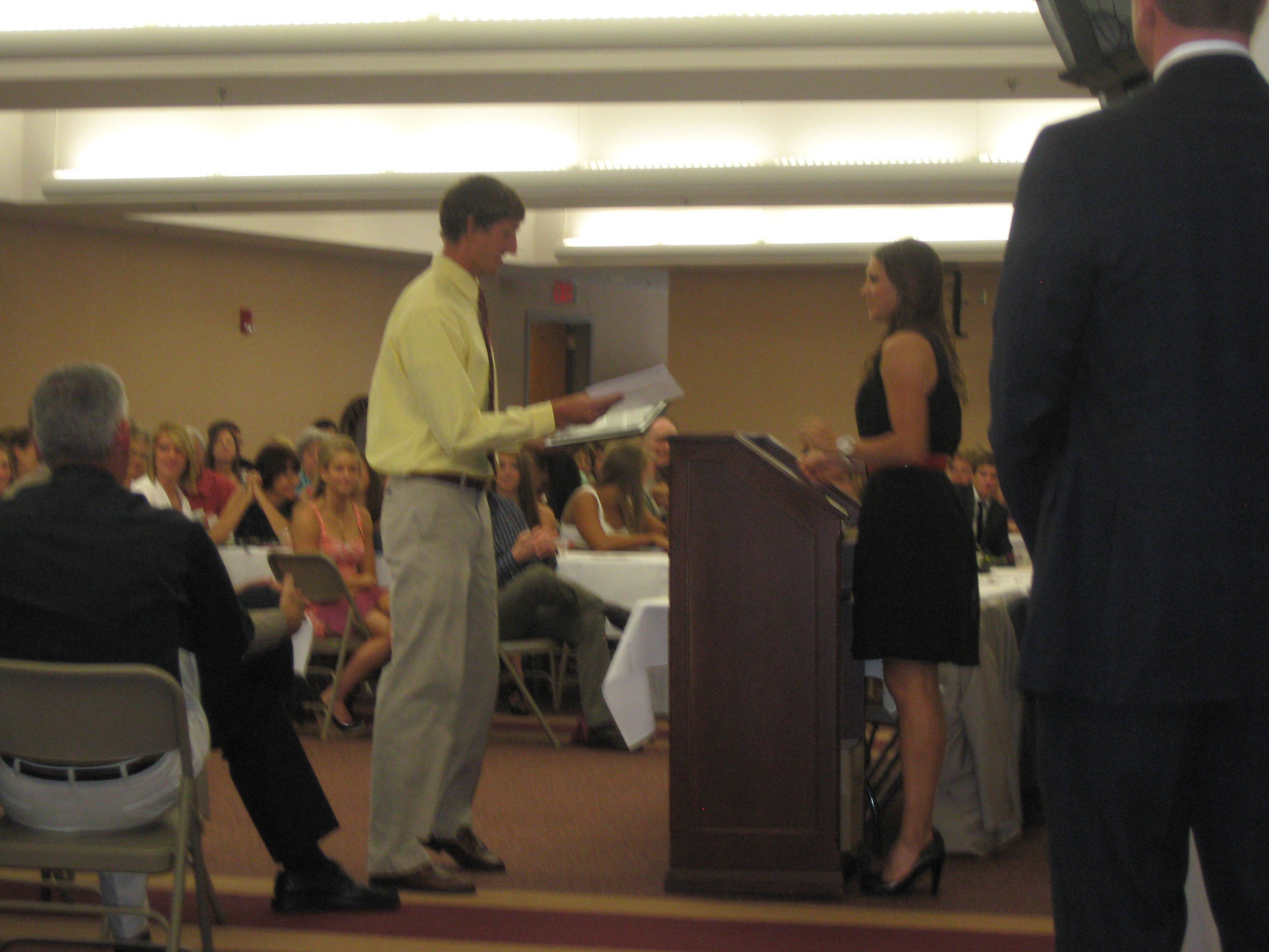 2011 Swimming and Diving Banquet: Mark Weber