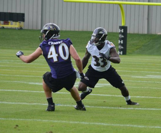 Terrence Brooks, courtesy of BaltimoreRavens.com