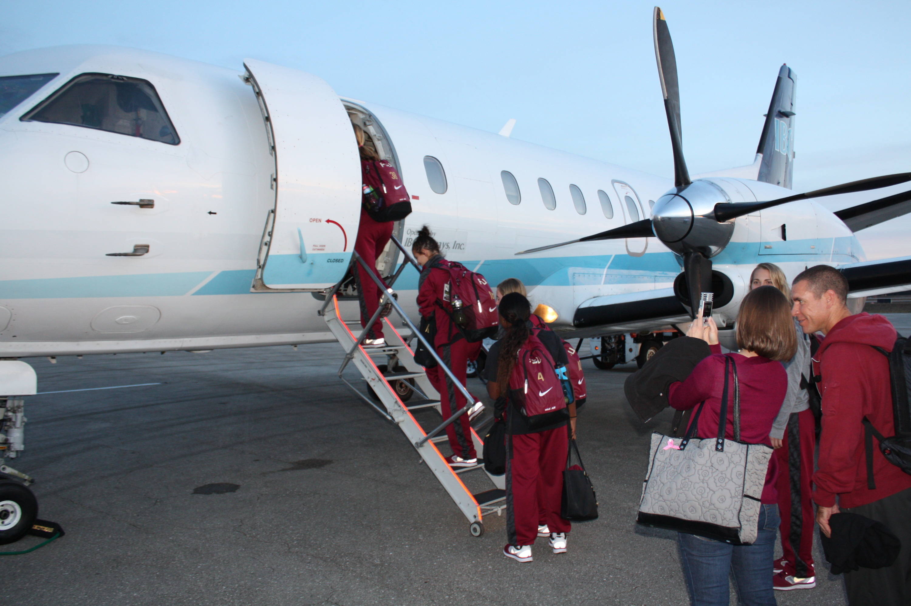 Getting on the plane and heading to Cary for the 2013 College Cup