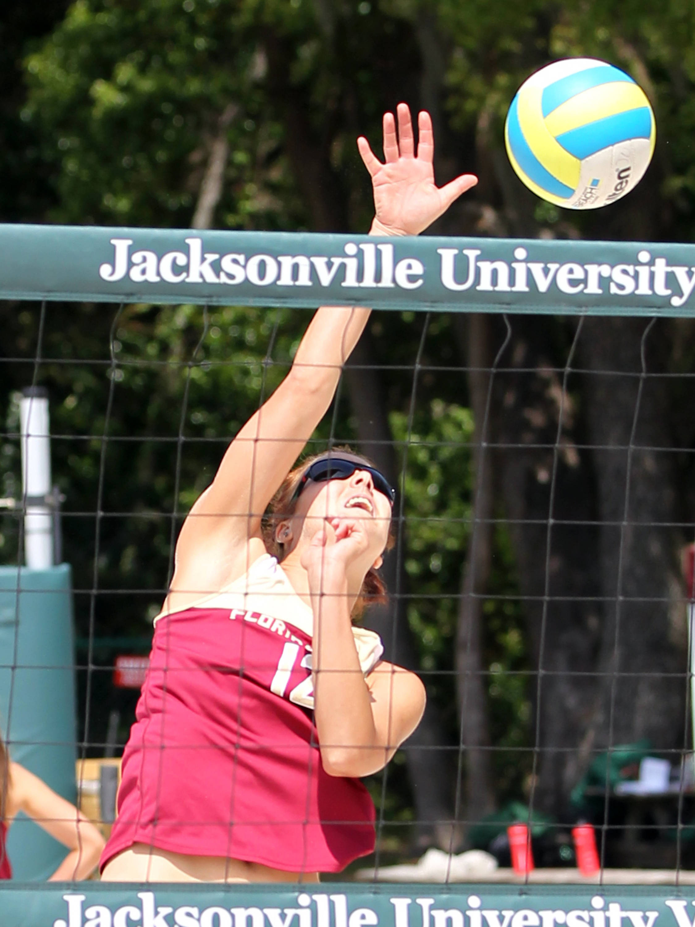 Marija Milosavljevic, FSU vs Jacksonville, 03/30/13 . (Photo by Steve Musco)