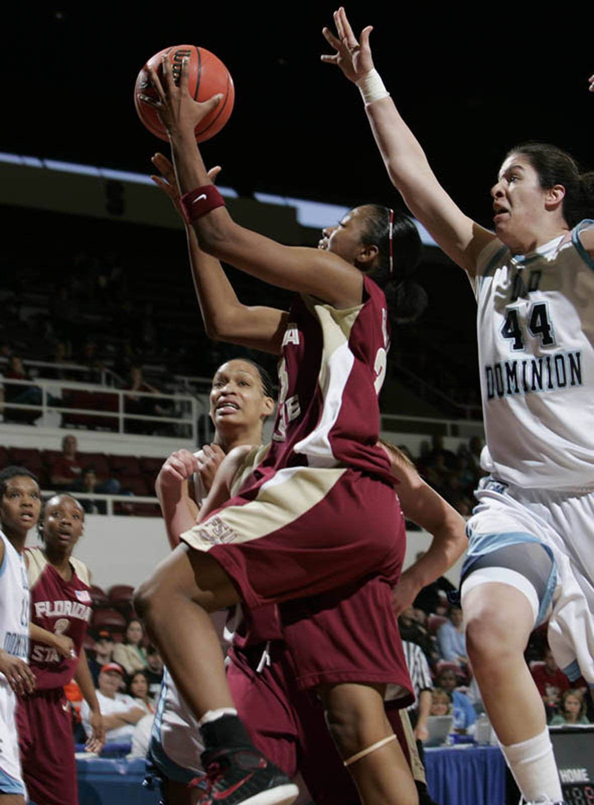 Alicia Gladden is the only senior on the Florida State team.
