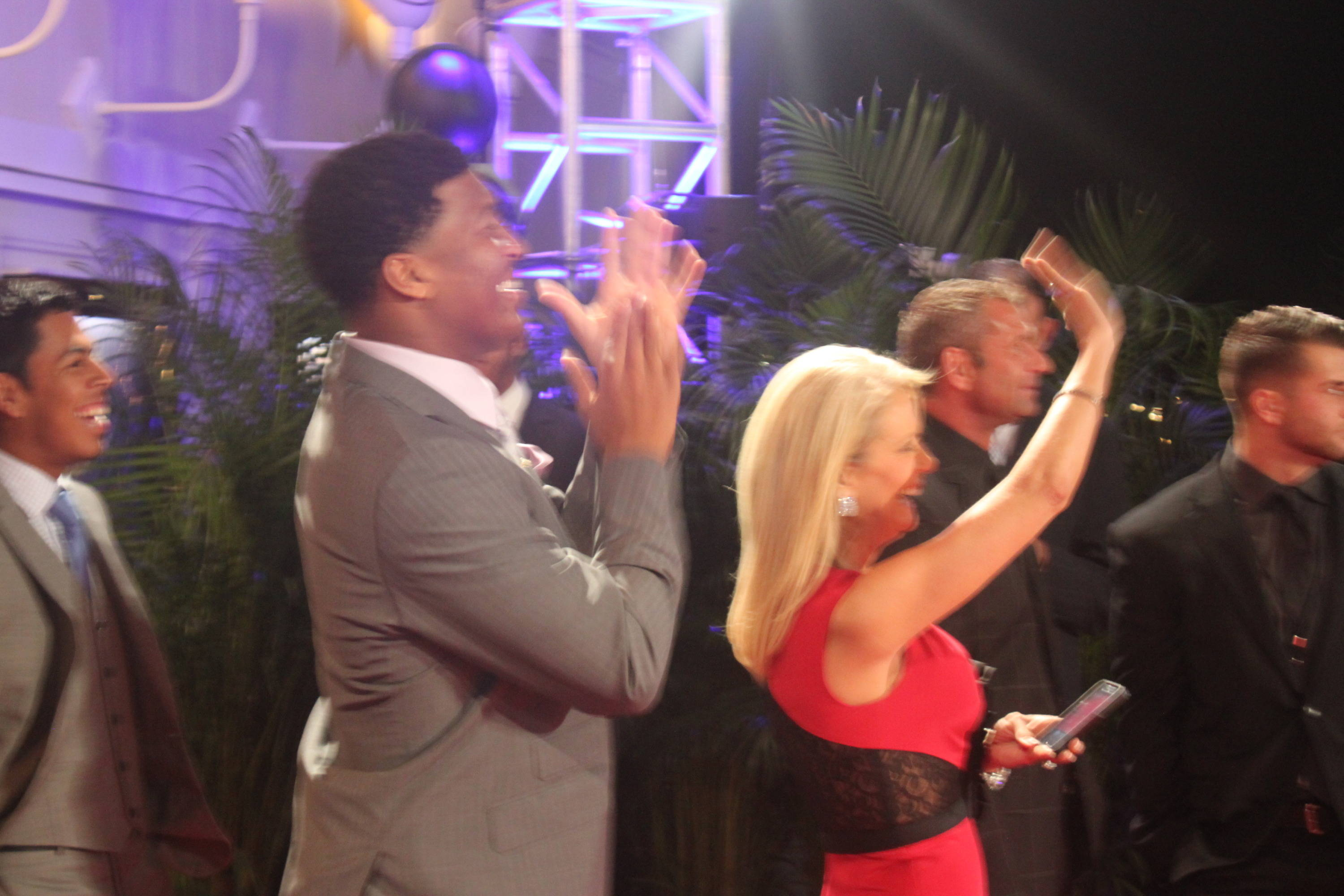 Jameis Winston and Candi Fisher