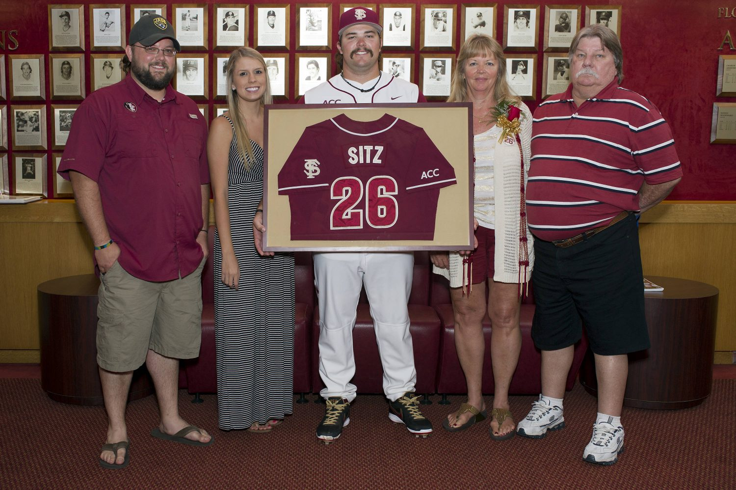 Scott Sitz (26) and family members