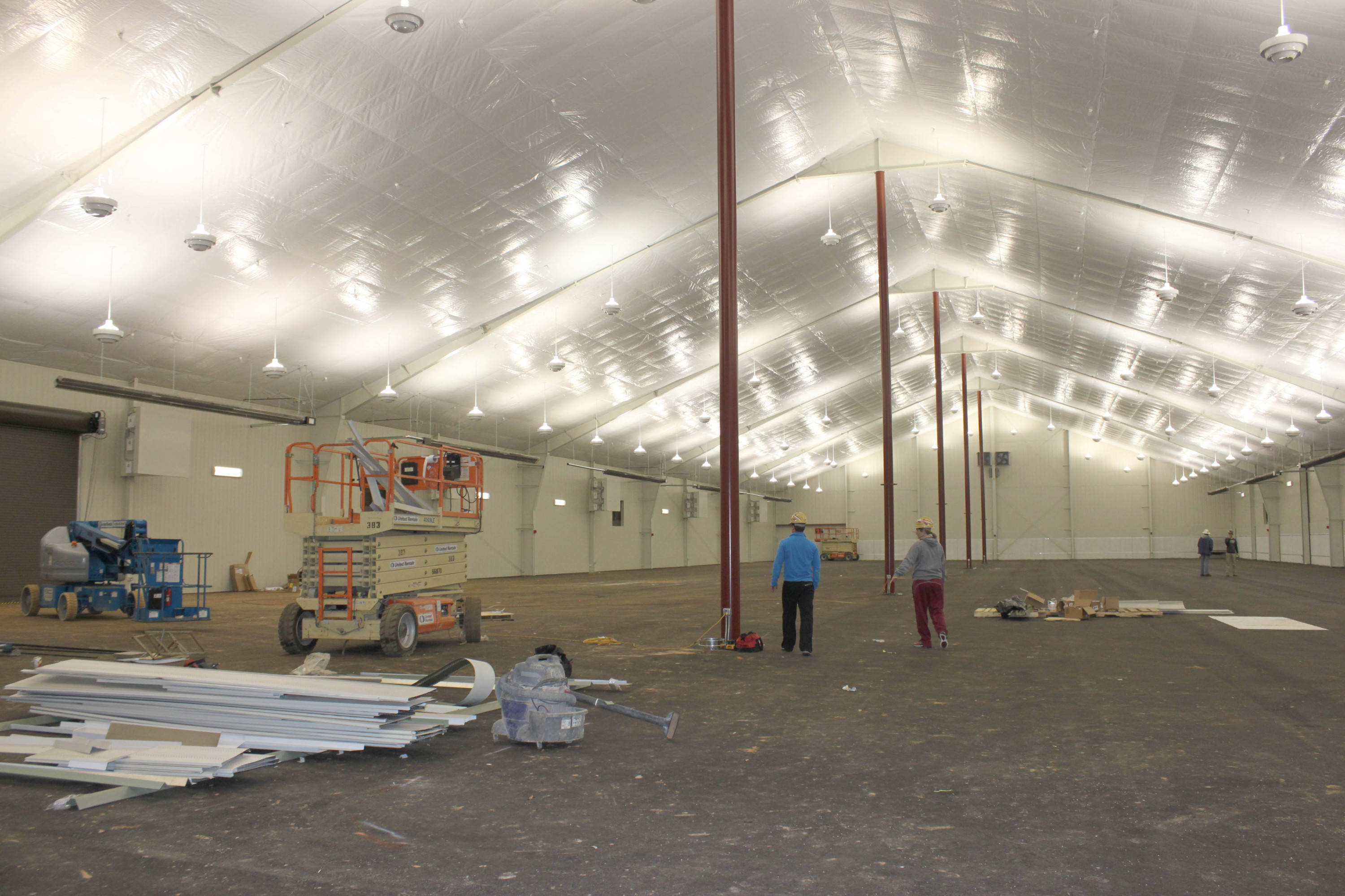 Indoor Tennis Facility 2-8-11