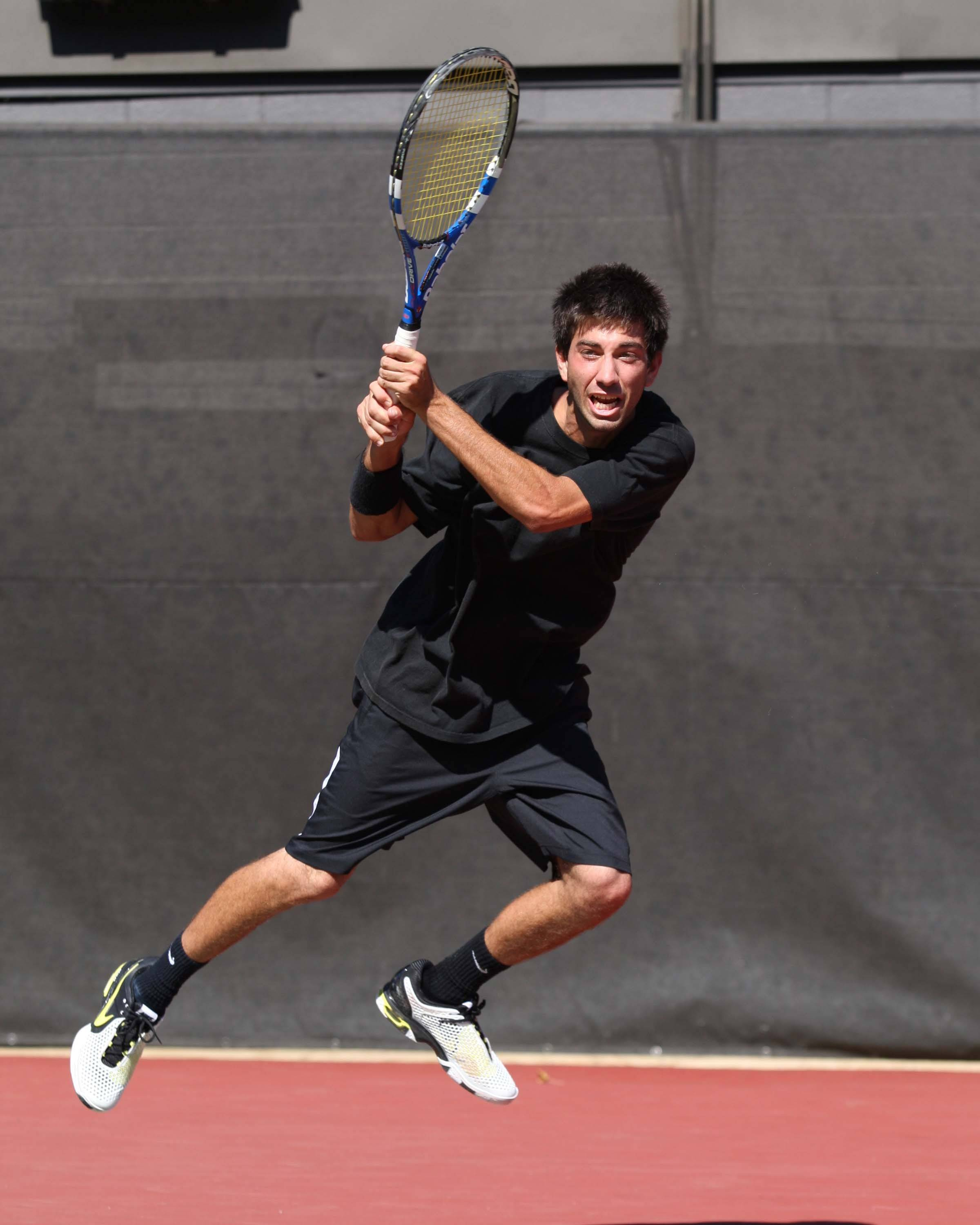 Jason Zafiros at the 2011 ITA Southeast Regionals in Athens, Ga.