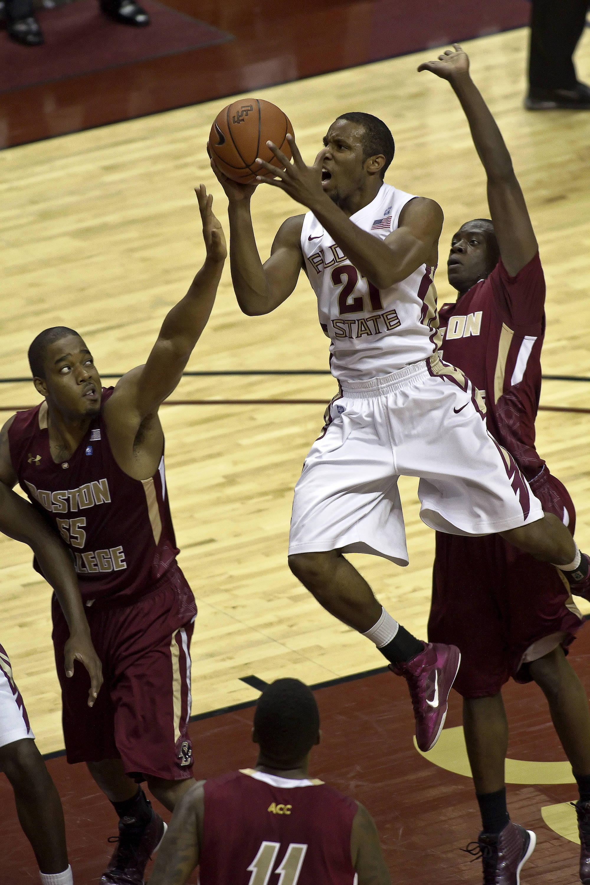 FSU vs Boston College - 01/22/11 - Michael Snaer (21)
