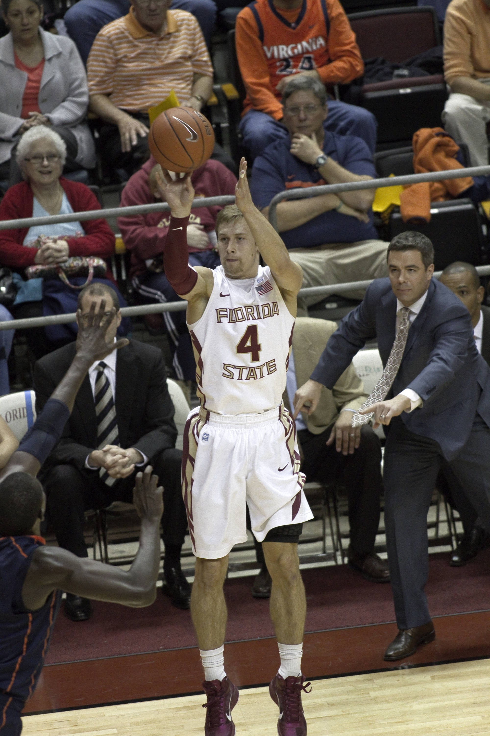 FSU vs Virginia- 02//12/11 - Deividas Dulkys (4)
