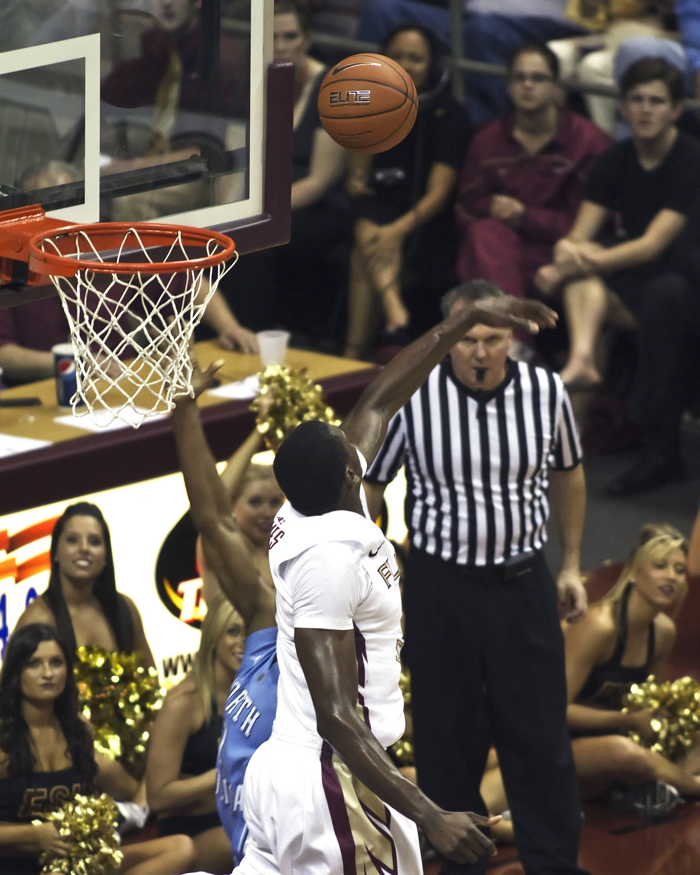 FSU vs NC- 03//02/11 - Bernard James (5)
