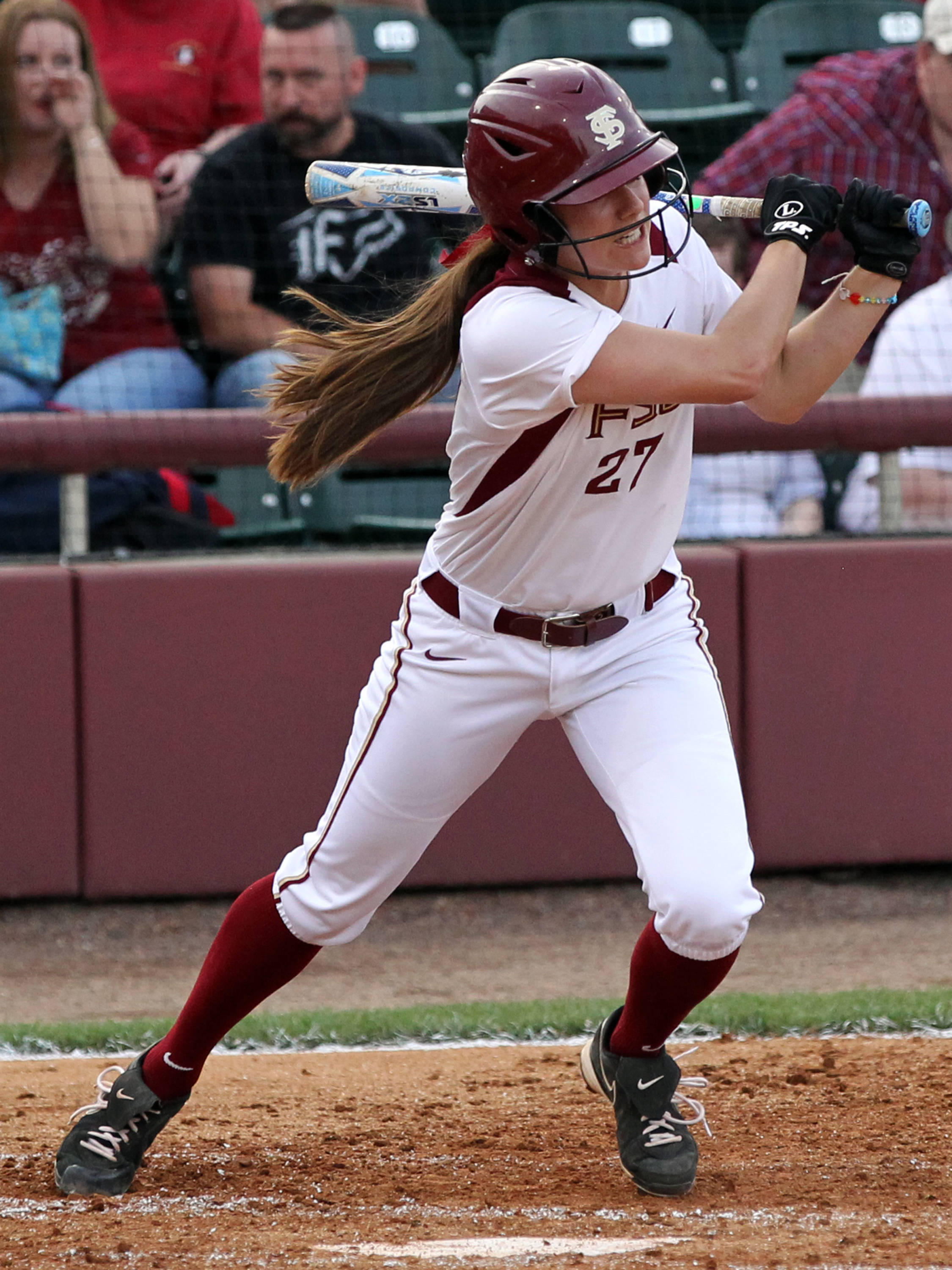 Bailey Schinella, FSU VS NC State, ACC Championship Finals, Tallahassee, FL,  05/11/13 . (Photo by Steve Musco)