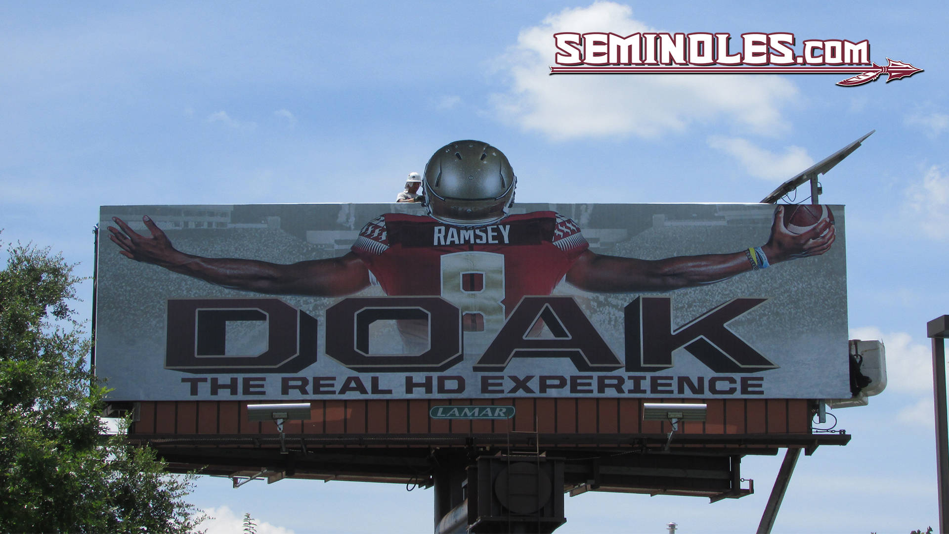 Football Billboard