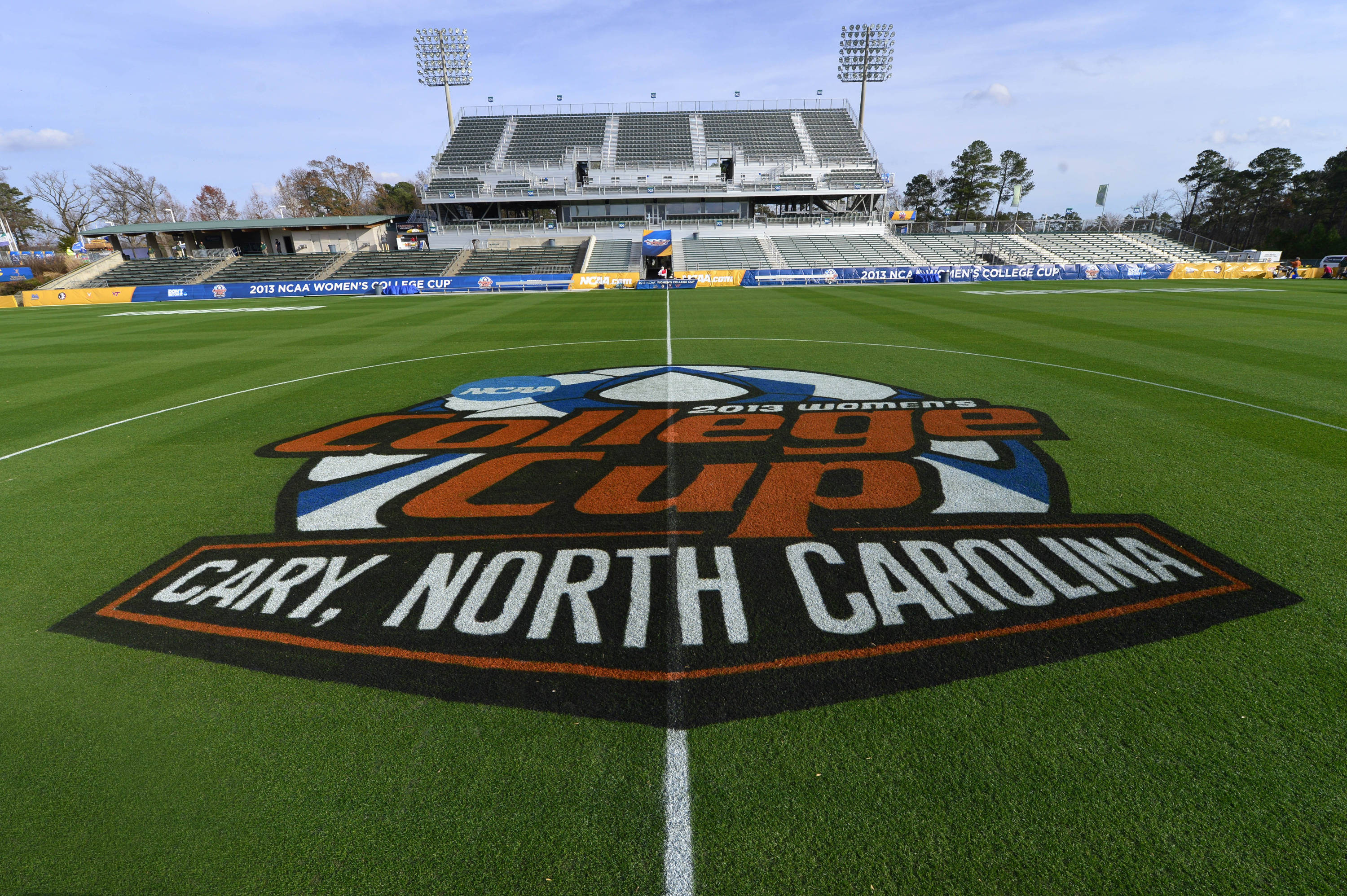 Dec 6, 2013; Cary, NC, USA; An overall view of the field at WakeMed Soccer Park. Mandatory Credit: Bob Donnan-USA TODAY Sports