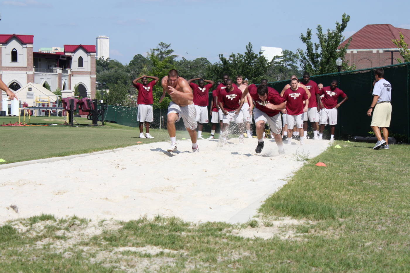 July 21st Summer Football Conditioning