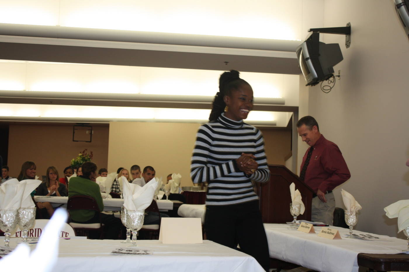 Pilar McShine at the 2008 cross country banquet