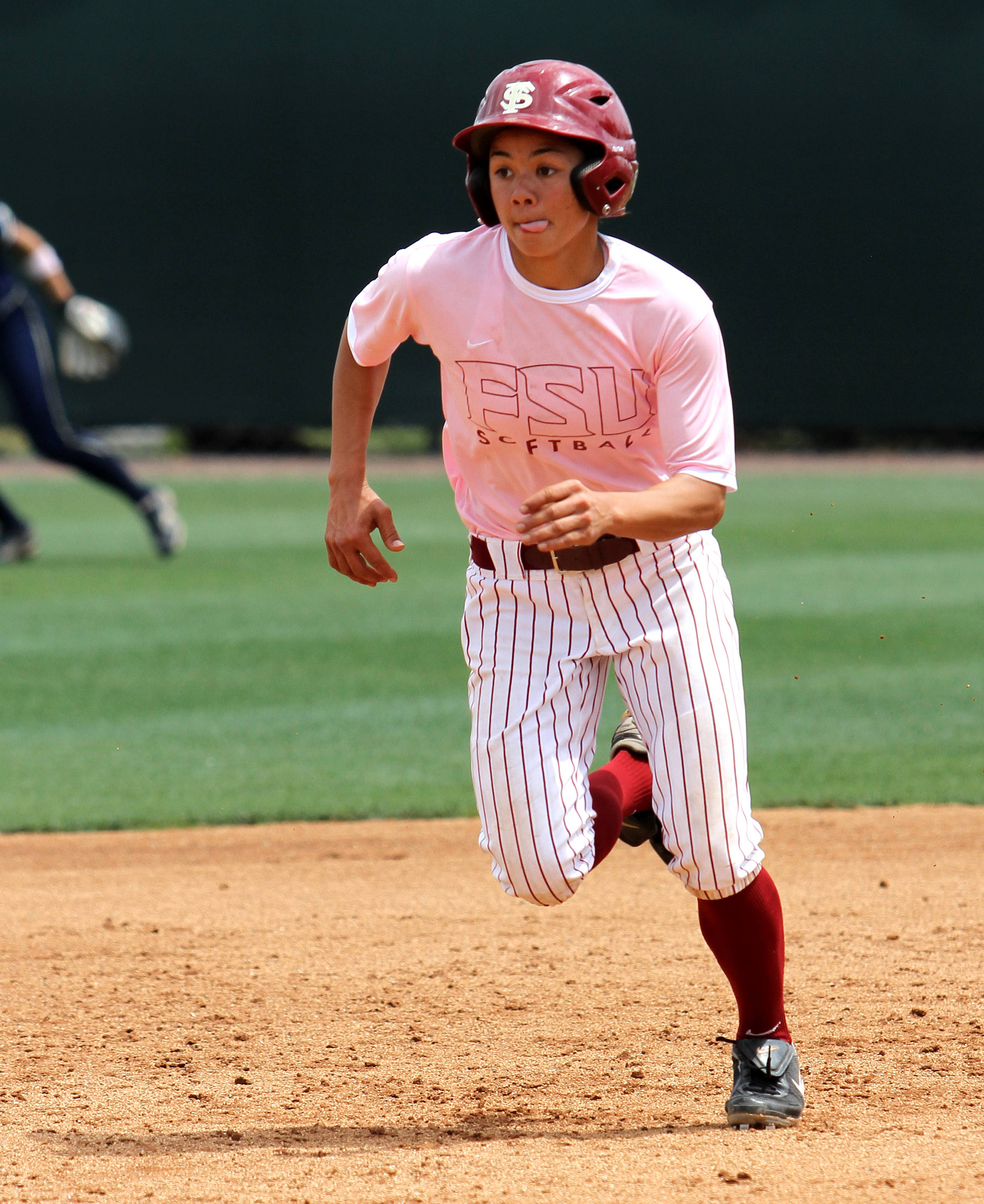 Courtney Senas, FSU vs GT,  04/15/2012
