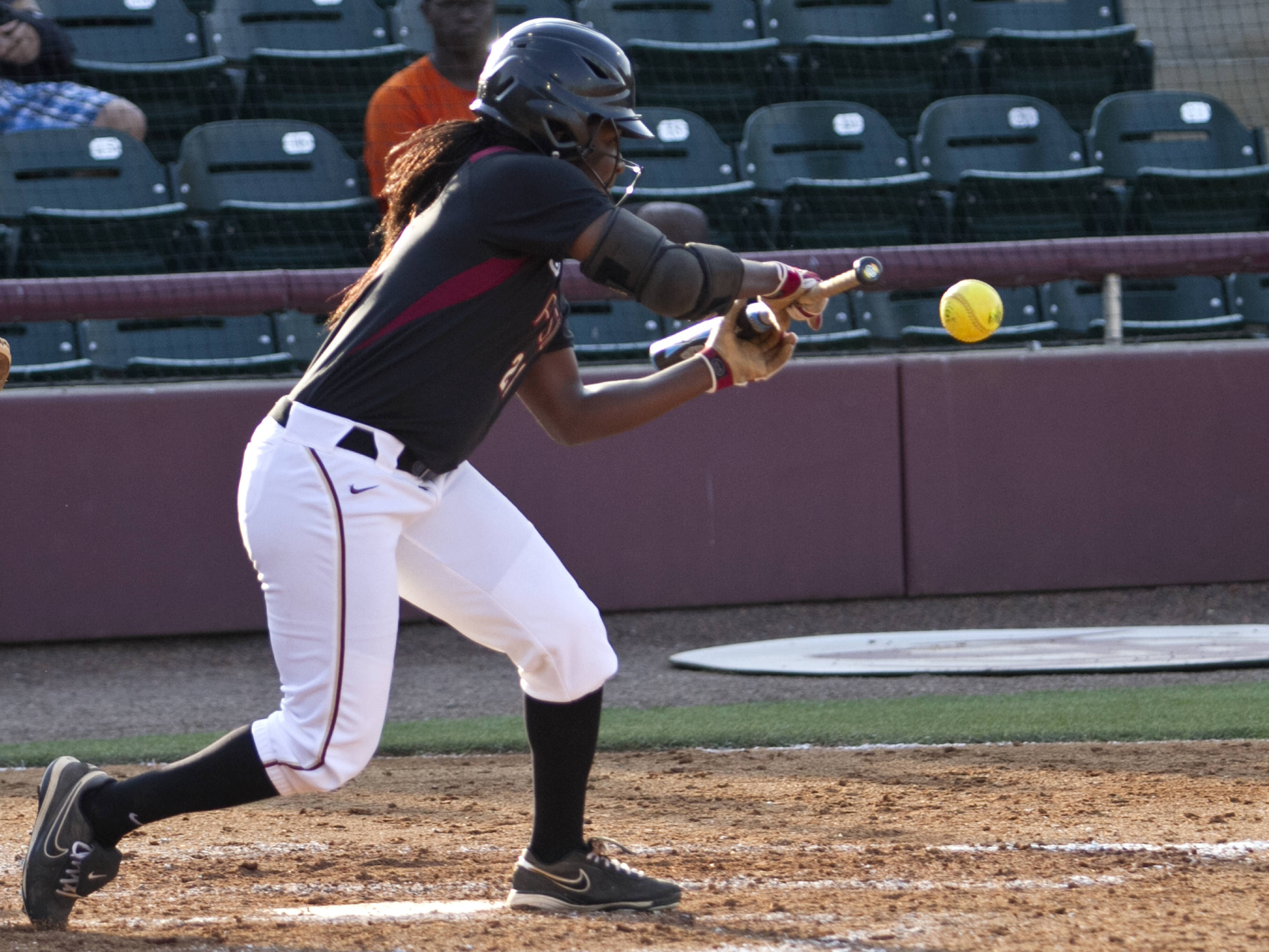 Morgan Bullock, FSU Softball vs FAMU  04/10/2012
