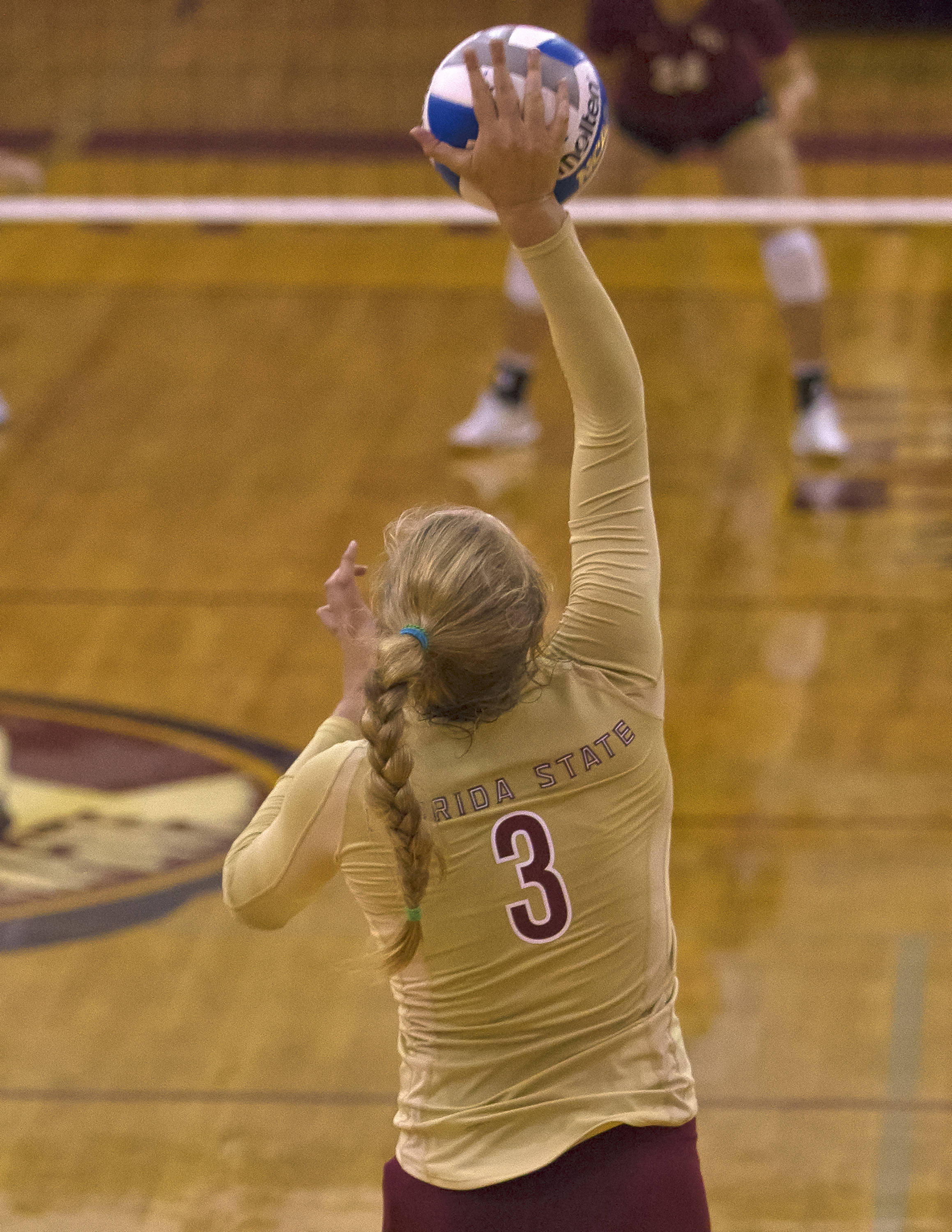 Leah Mikesky, Garnet and Gold, 8-24-13, (Photo by Steve Musco)