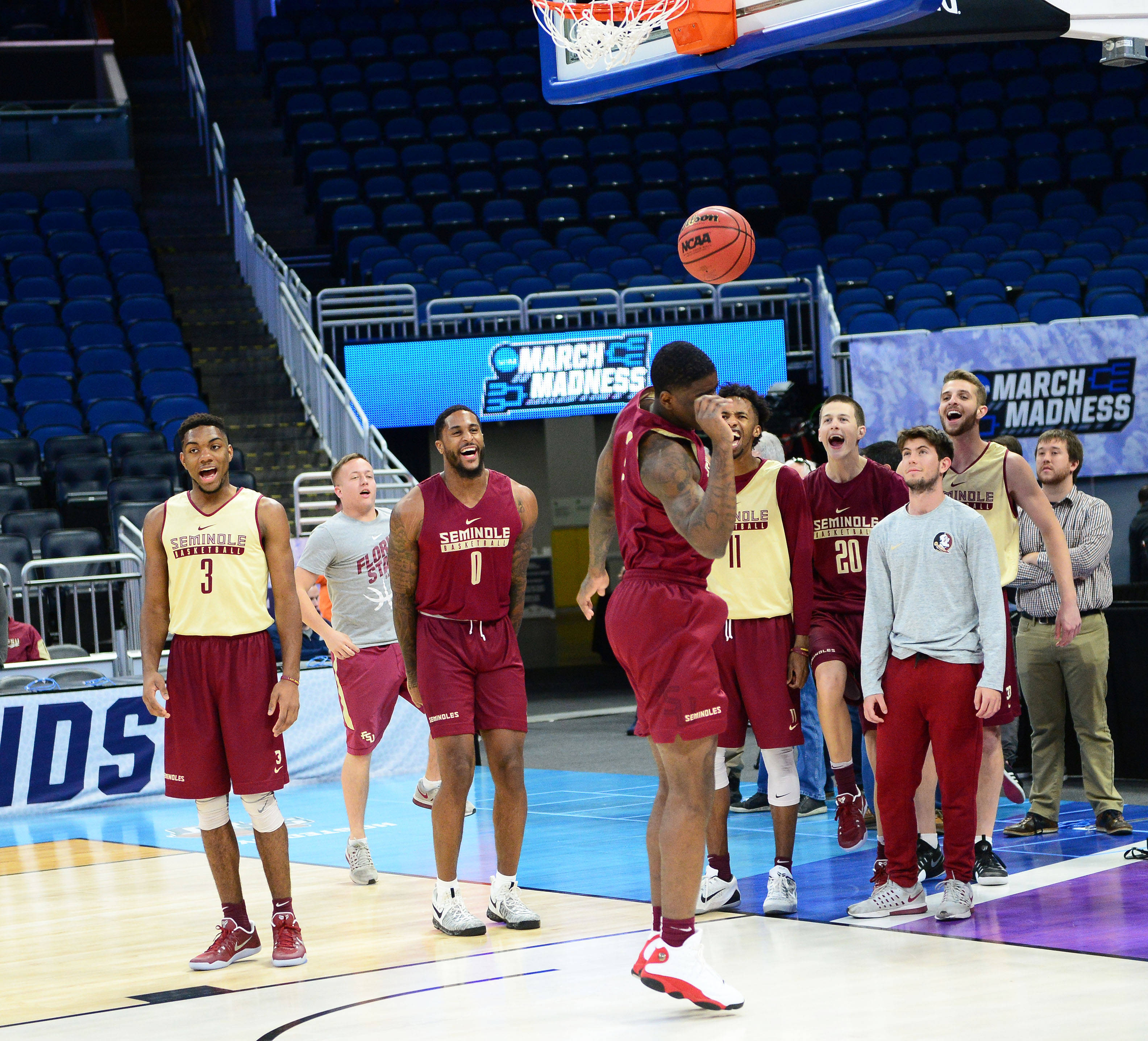 NCAA Men's Basketball Tournament Practice Day