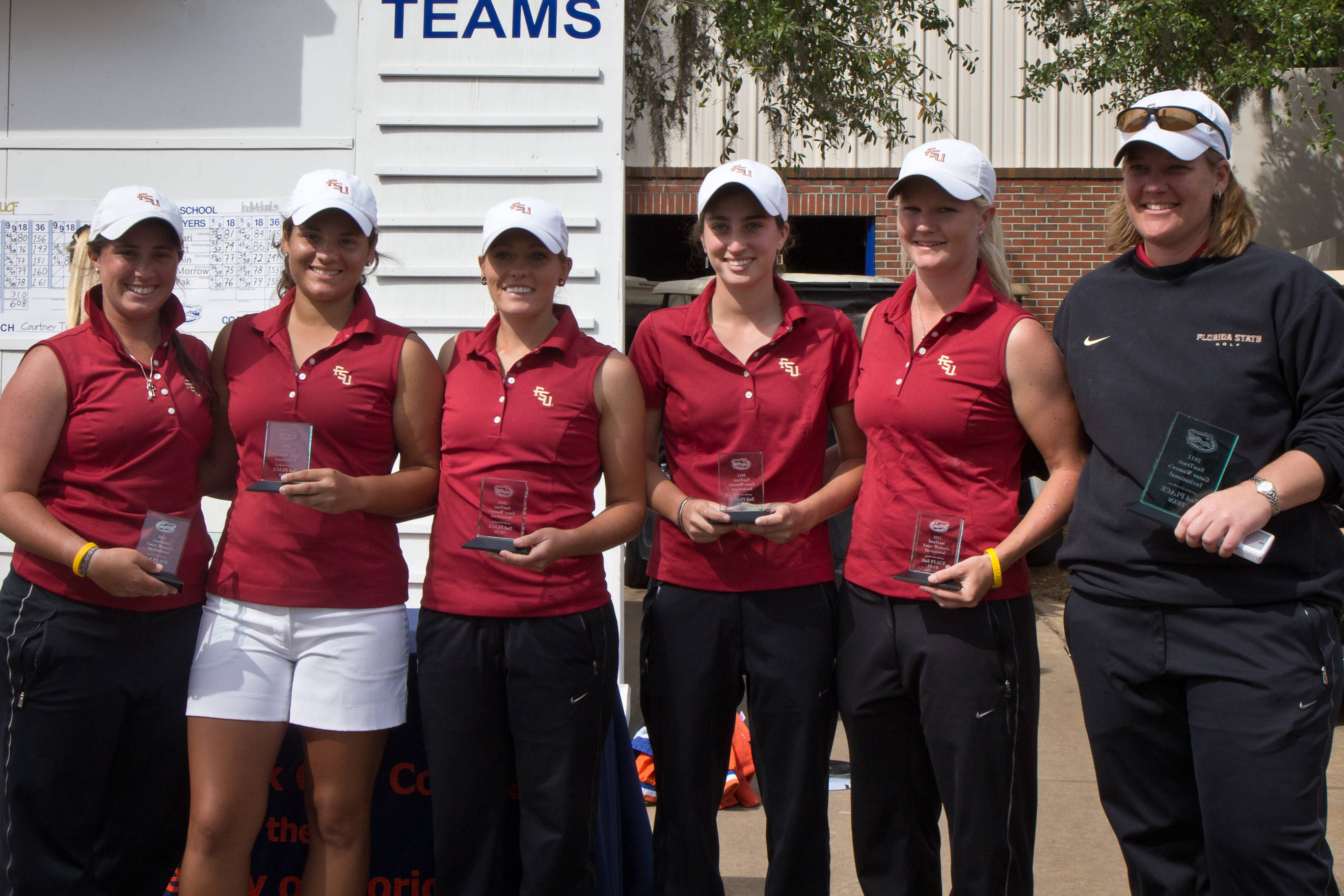 Seminoles finish second at 2011 Lady Gator