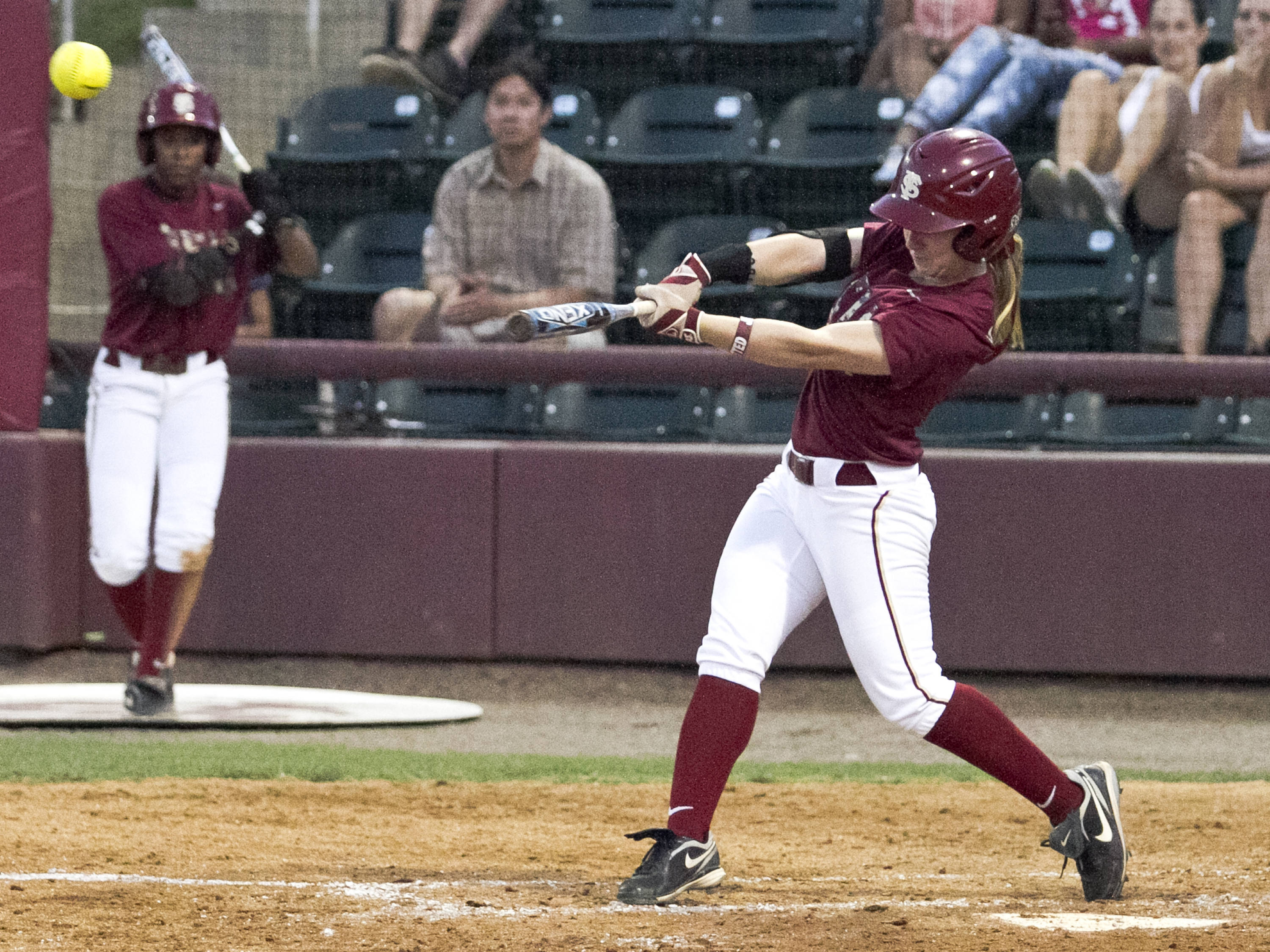 Kirstin Austin, FSU Softball vs NC,  04/02/2012