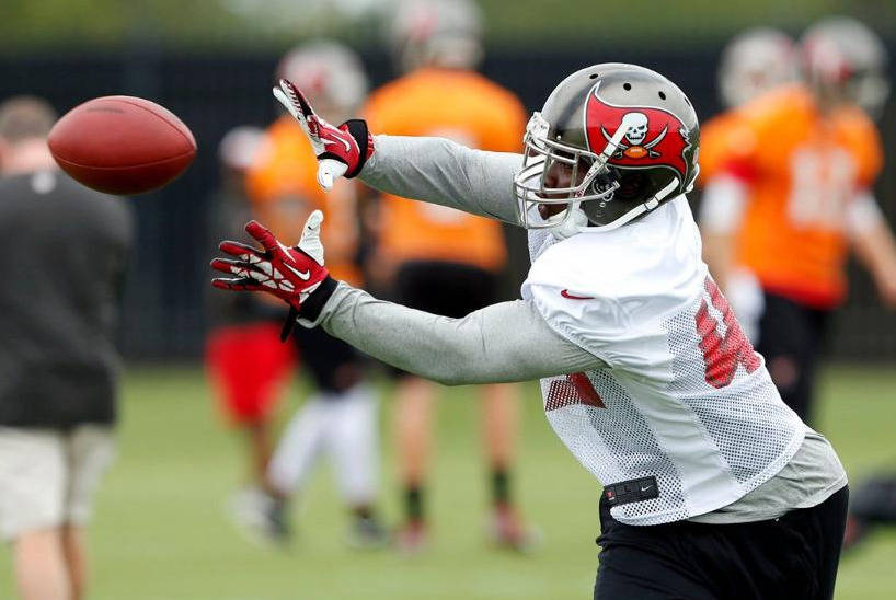 Lonnie Pryor, courtesy of Buccaneers.com
