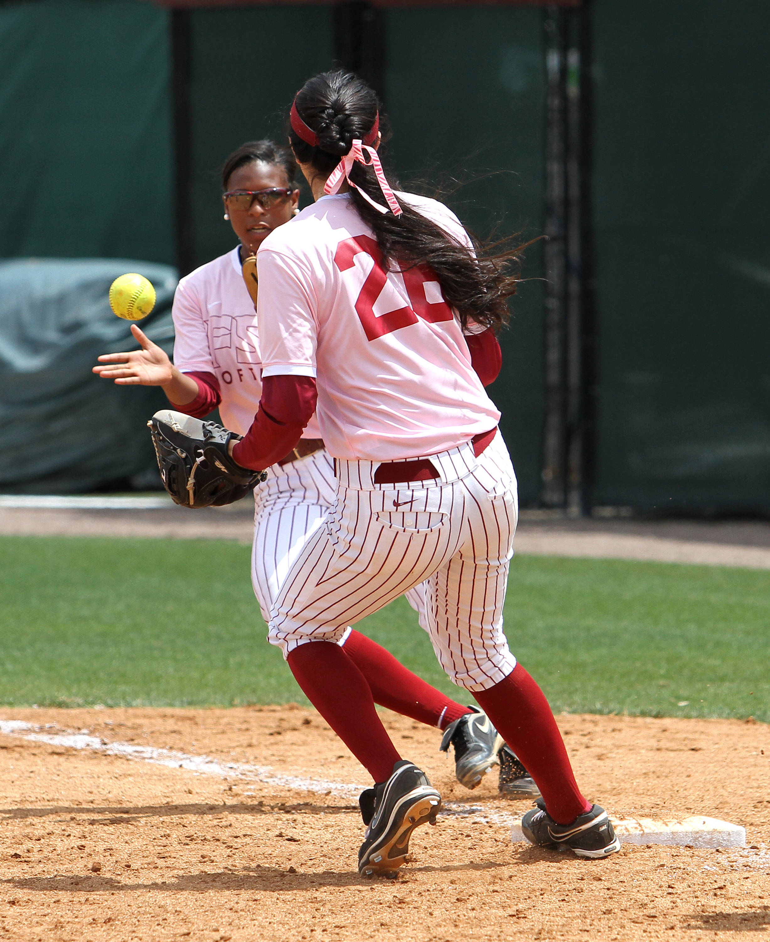 Jessica Nori, Tiffani Brown, FSU vs GT,  04/15/2012