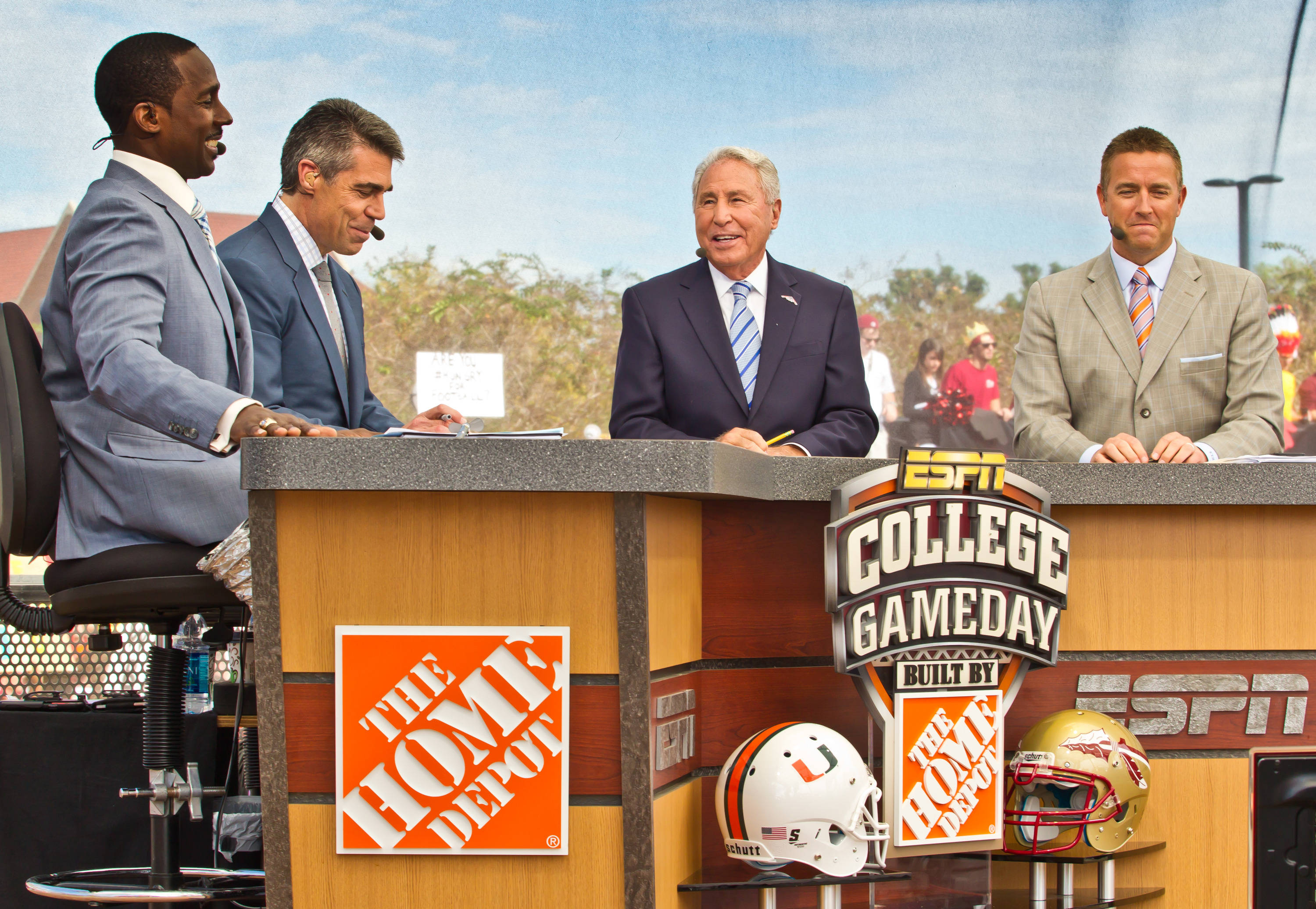The College Game Day crew
