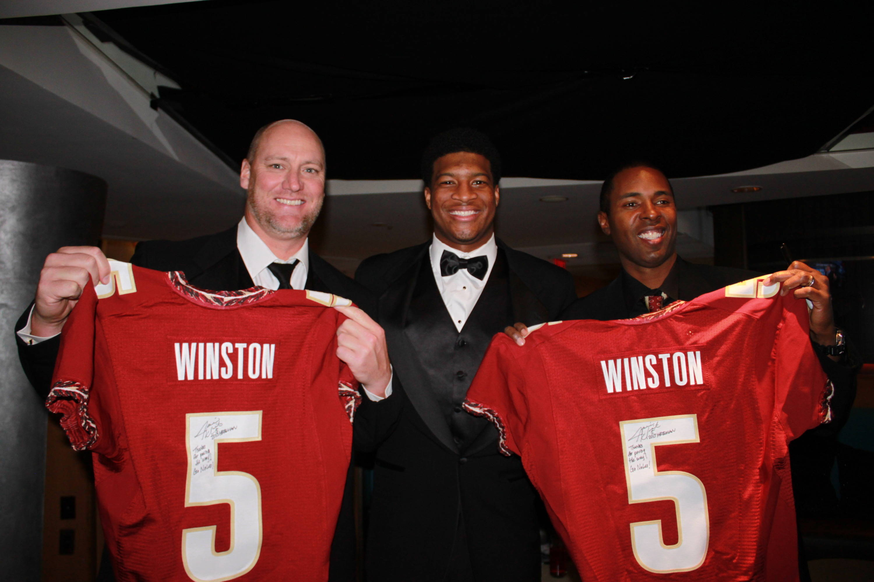 Jameis Winston, Chris Weinke, Charlie Ward