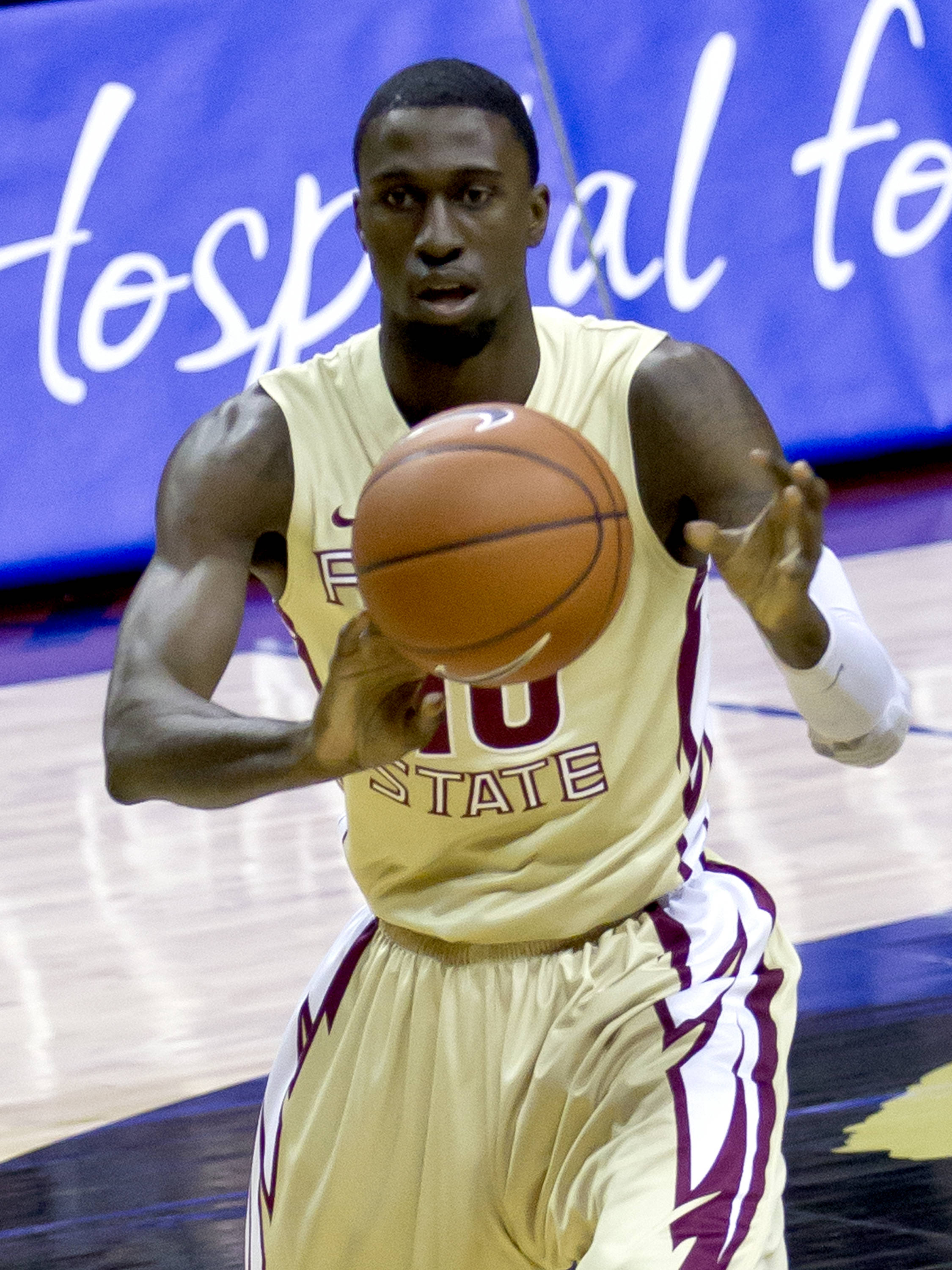 Okaro White (10), FSU vs BC, 02/16/13. (Photo by Steve Musco)
