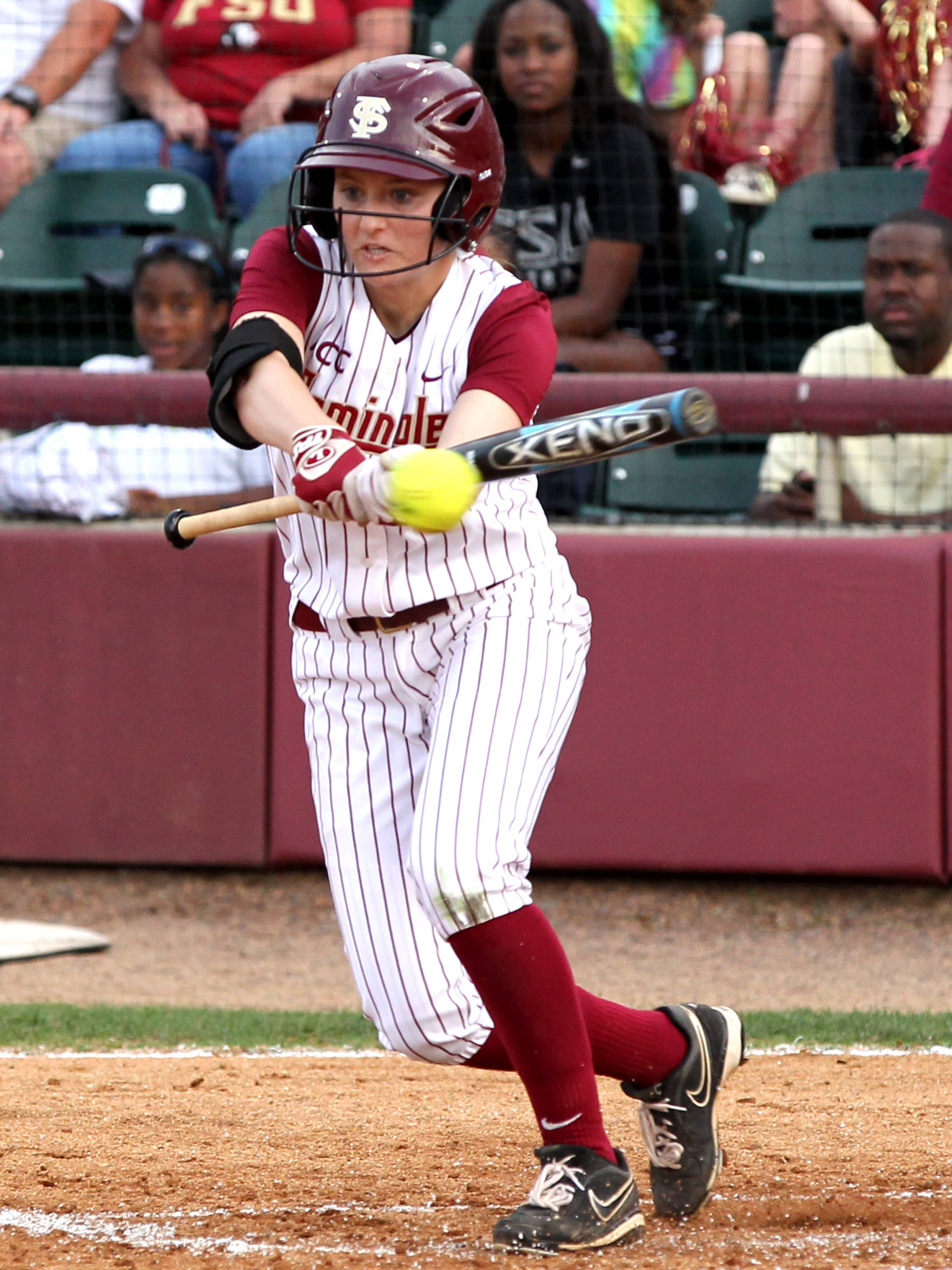 Alex Kossoff, FSU vs FLA, 04/17/13 . (Photo by Steve Musco)