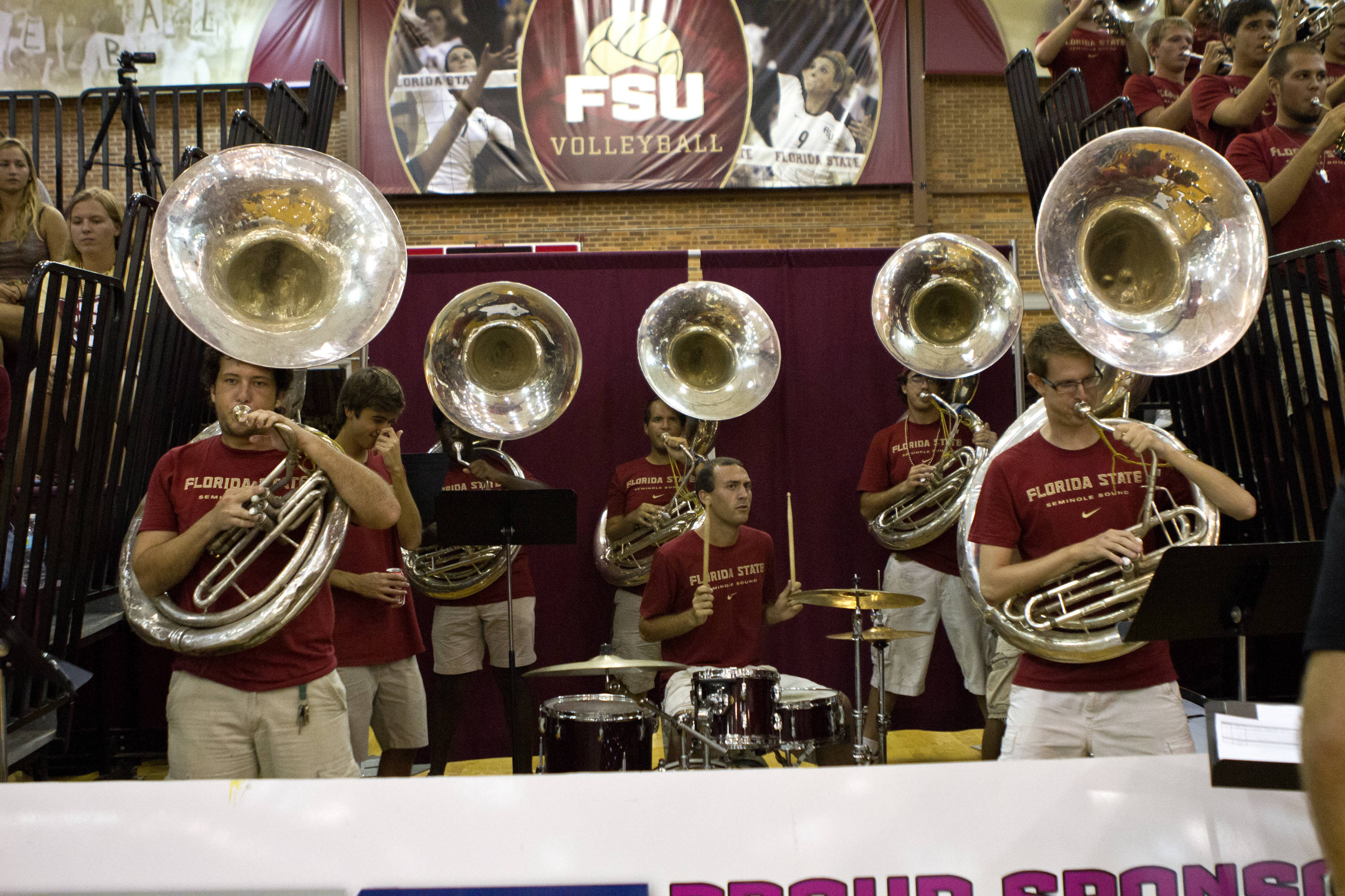 Seminole Sound, FSU vs NC, 10/05/12 (Photo by Steve Musco)