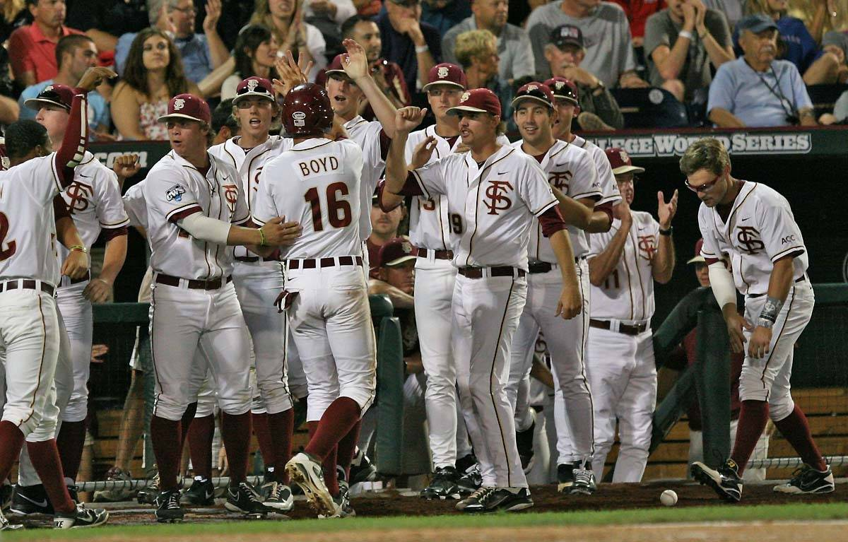 The 2012 Florida State Seminoles at the CWS