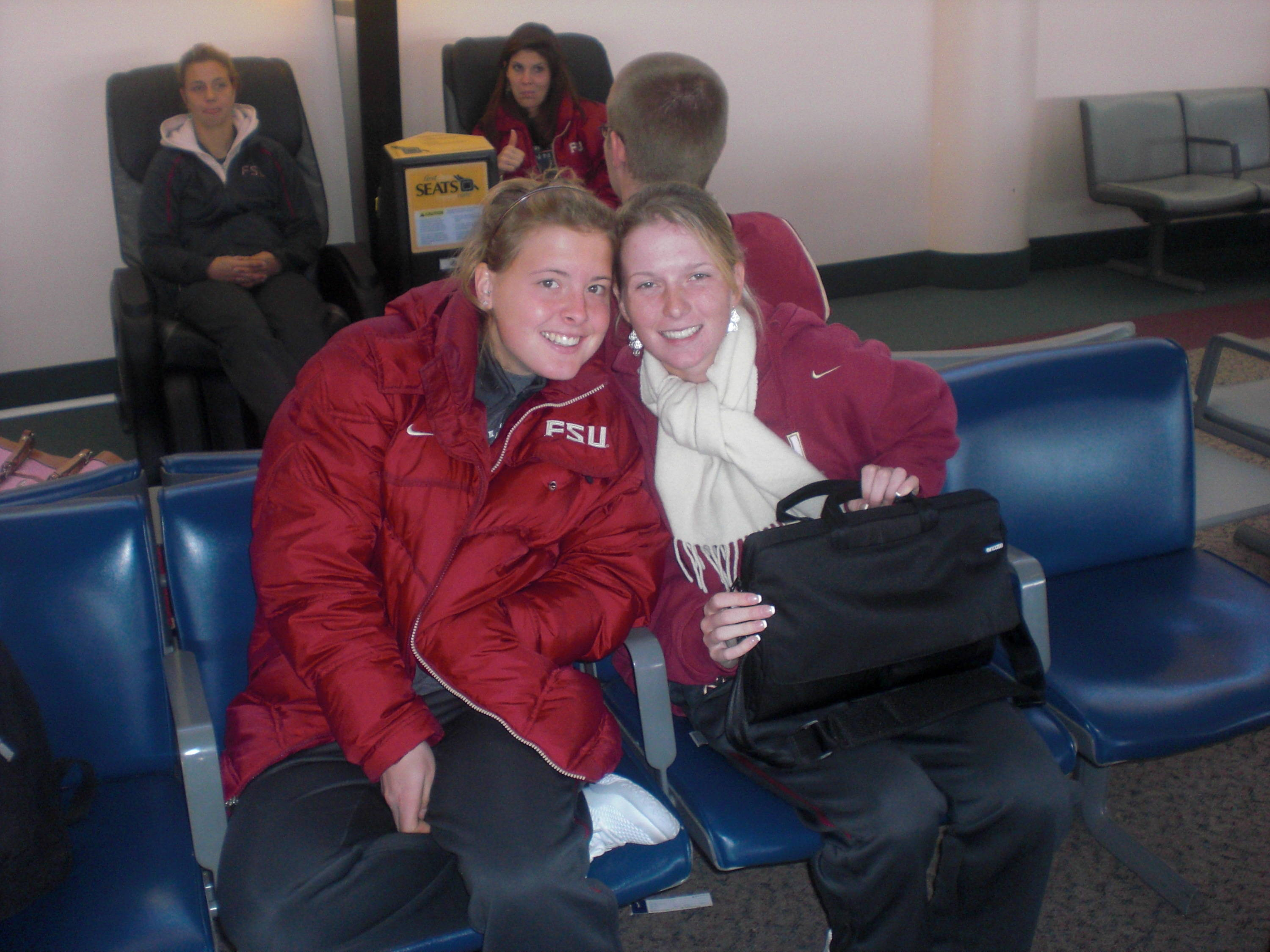 The Seminoles at the ITA Indoor Championships in Madison, Wisconsin.