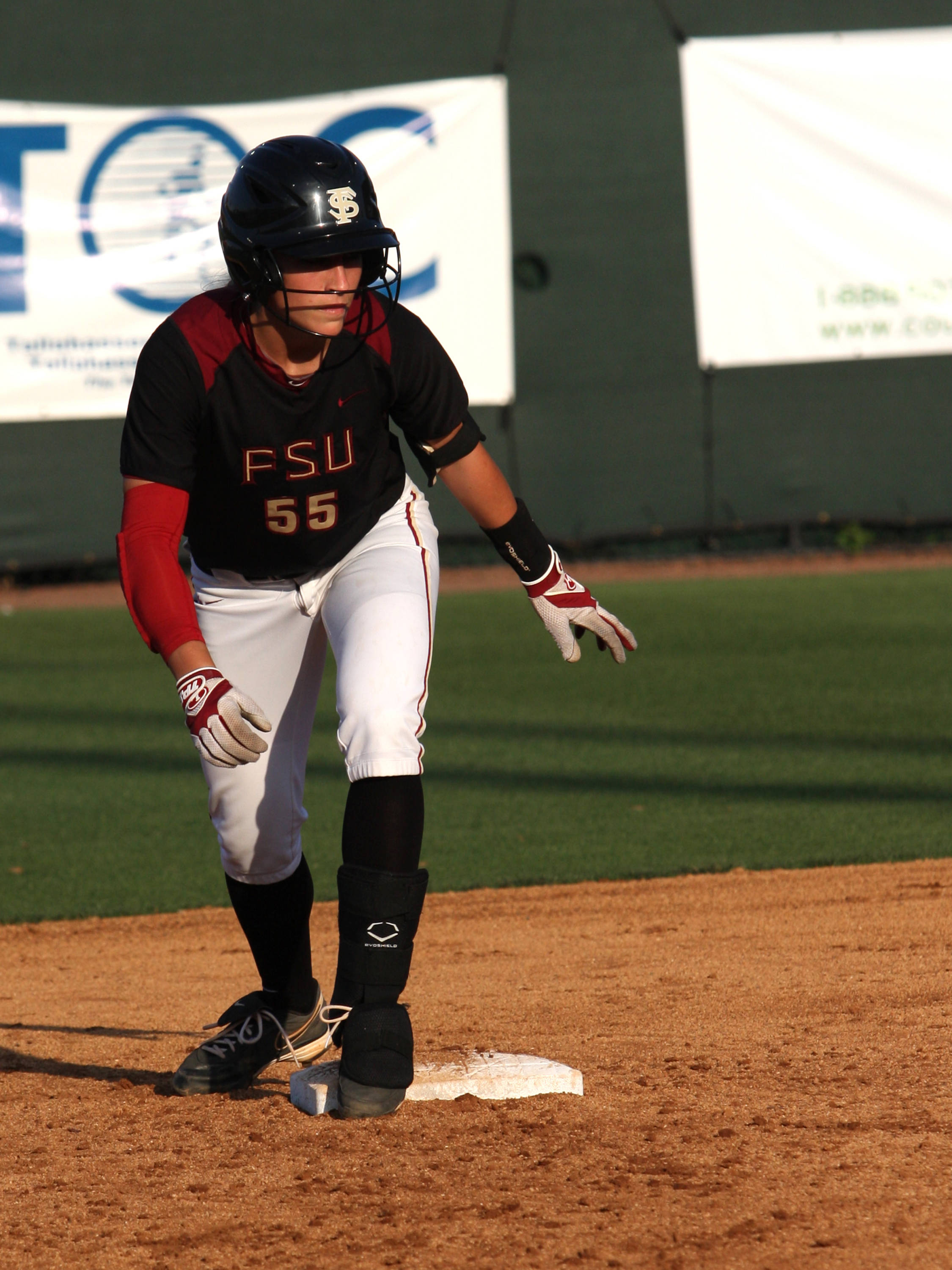 Monica Perry (55), FSU VS Jacksonville,  03/20/2012