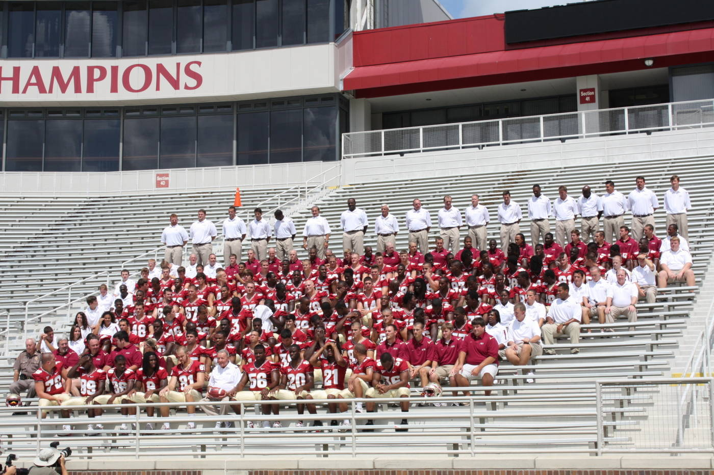 2009 Florida State Football Team