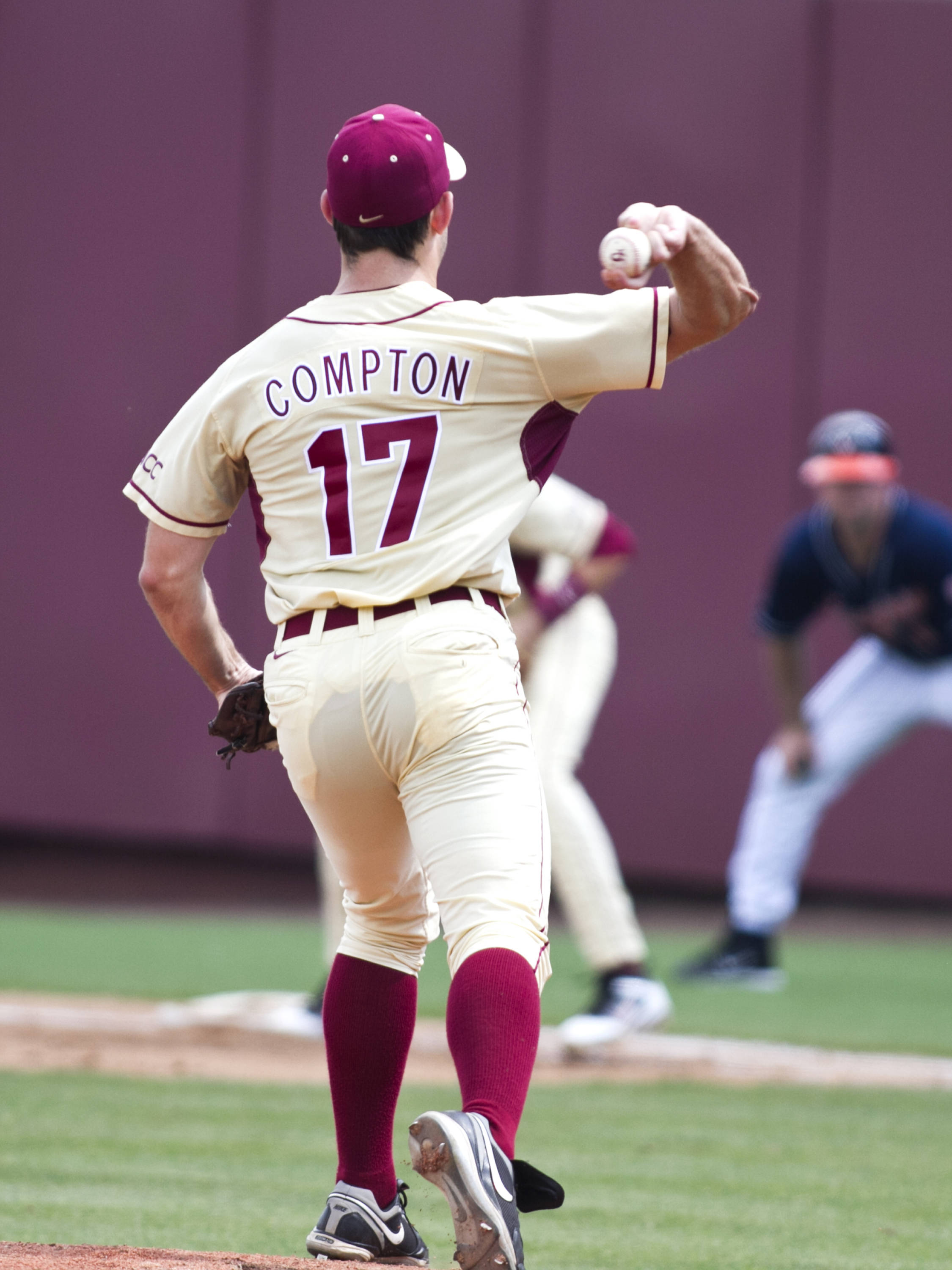 Mike Compton (17), FSU VS Virginia,  03/18/2012