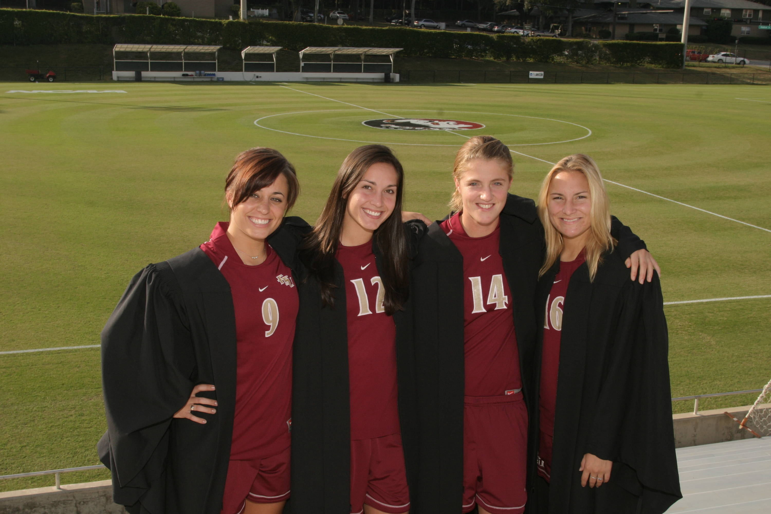 2007 season- Melissa Samokishyn, Libby Gianeskis, Kirsten van de Ven, and Holly Peltzer.