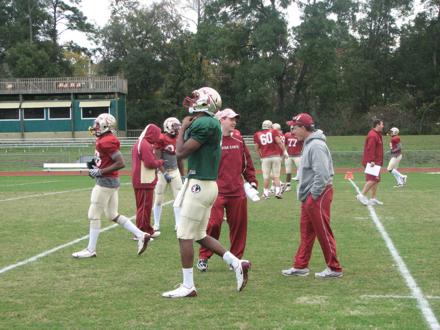 Gator Bowl Practice December 28th