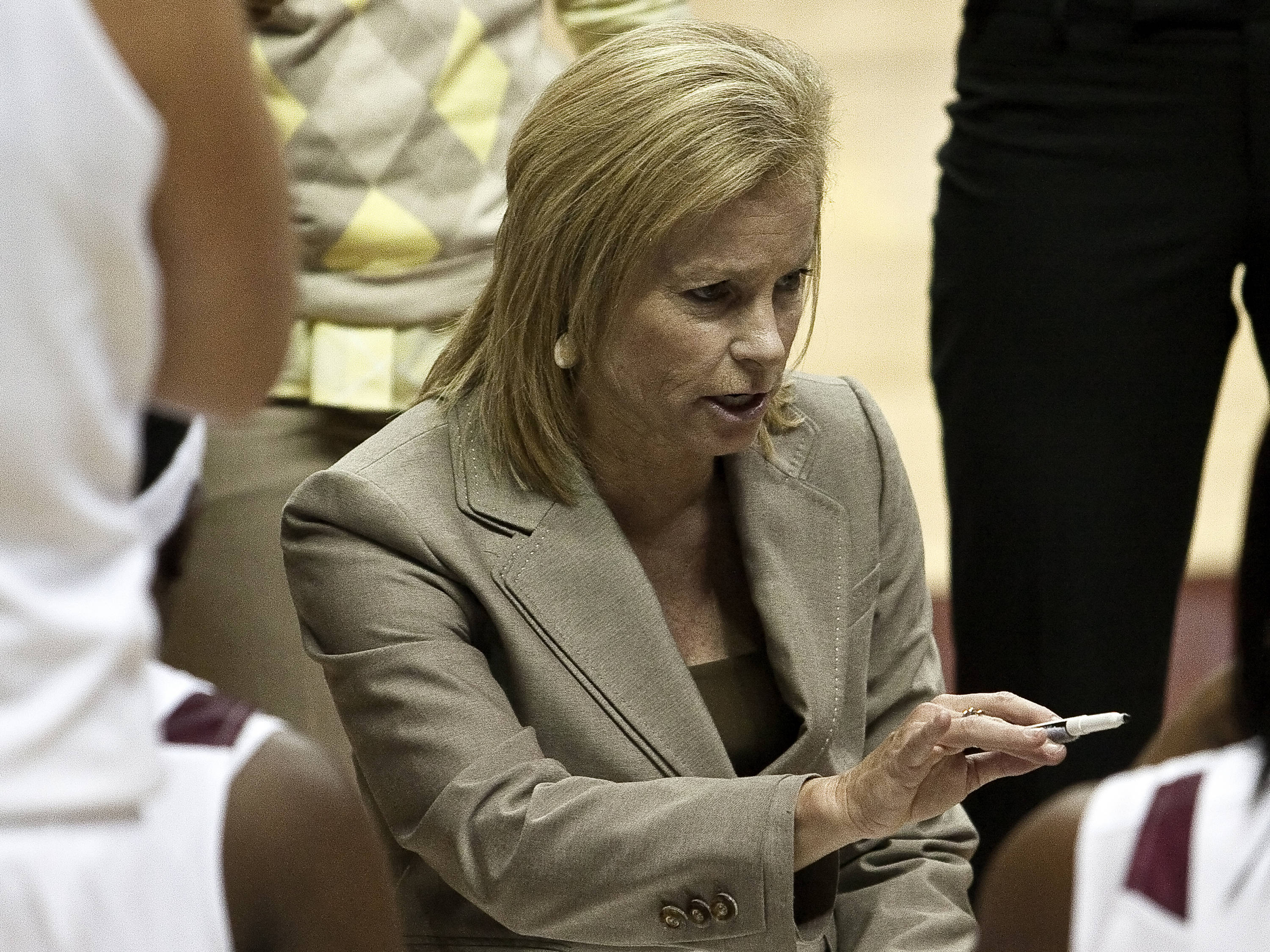 Head Coach Sue Semrau, FSU vs Nebraska, 11/27/2011