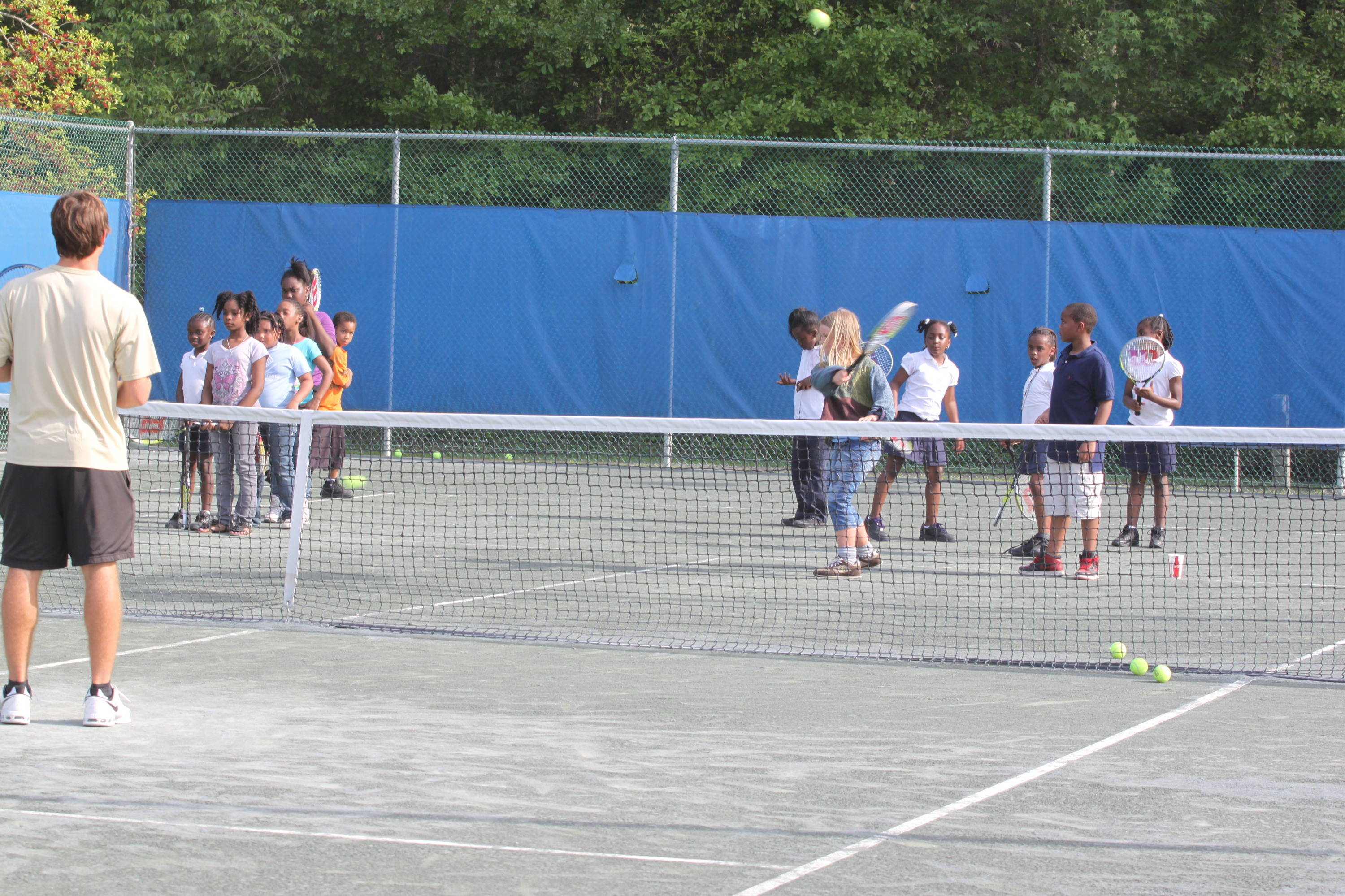 Community Service at the USTA Tallahassee Tennis Challenger