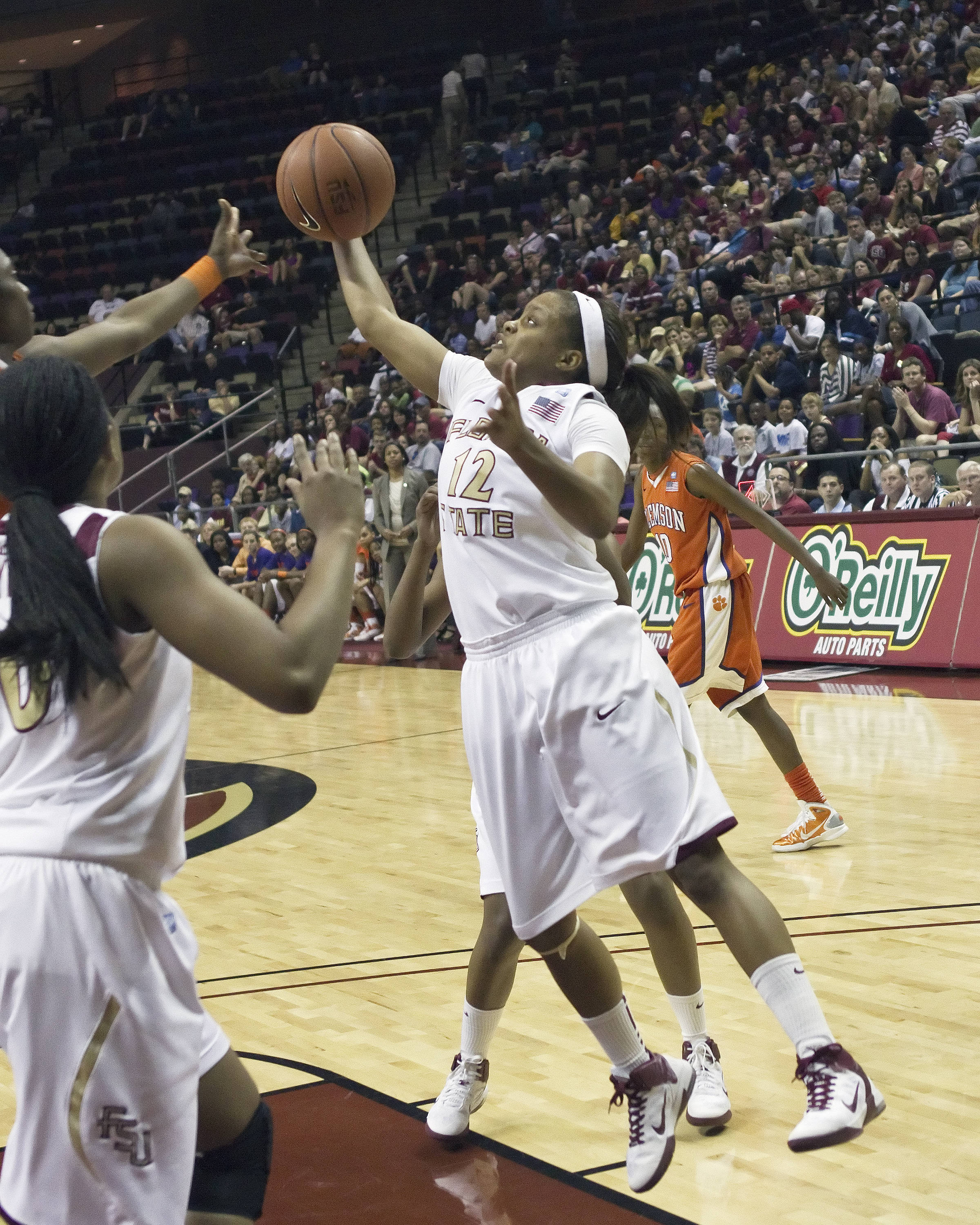 FSU vs Clemson- 02//27/11 - Courtney Ward (12)