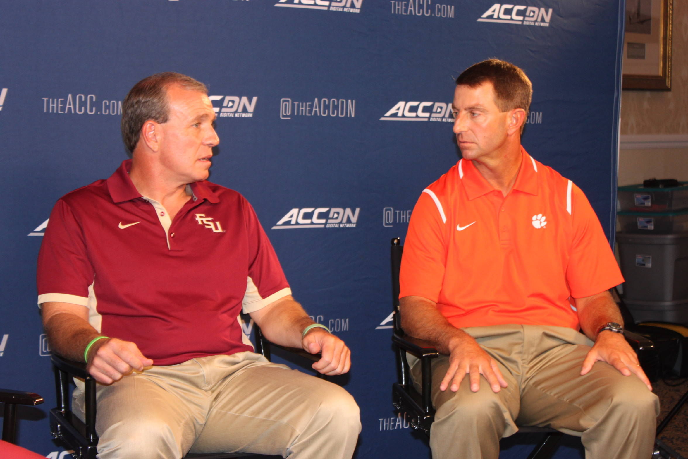 Jimbo Fisher at ACC Kick-Off