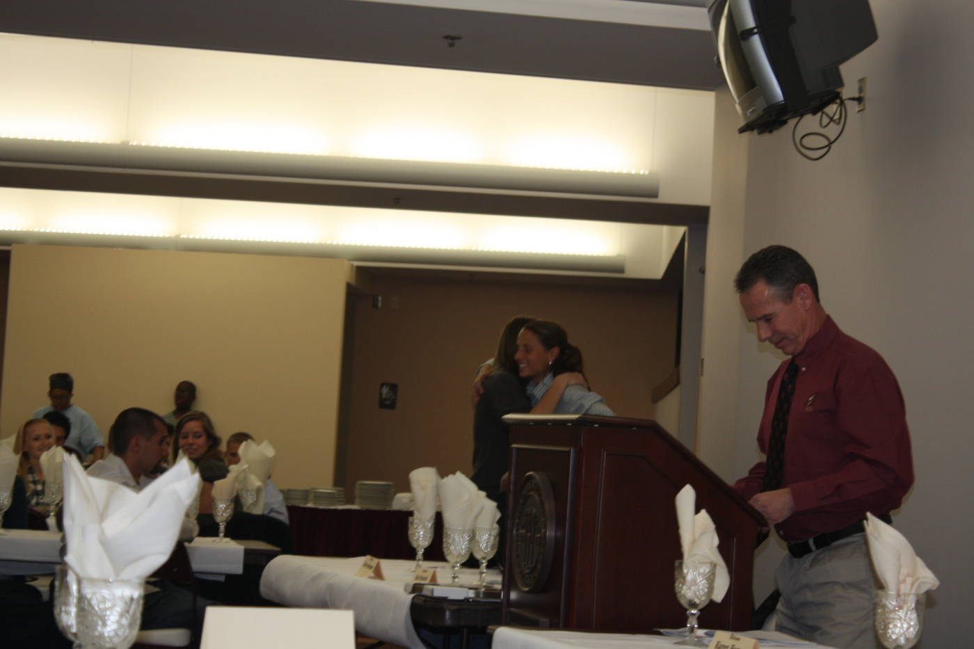 2008 cross country banquet