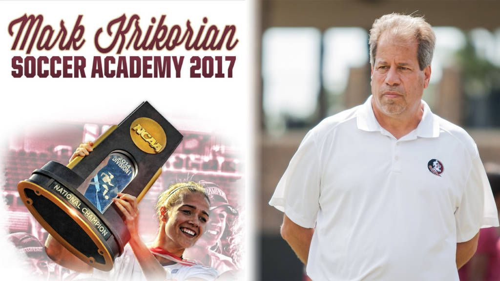 2017 Mark Krikorian Soccer Academy Dates
